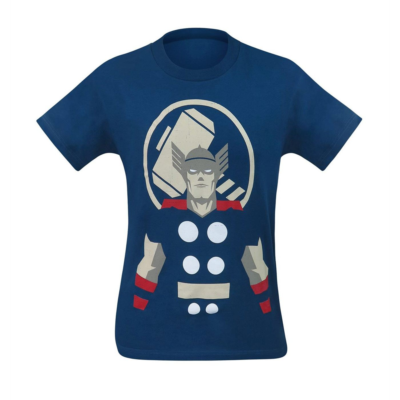 Thor and Hammer Minimalist Men's T-Shirt