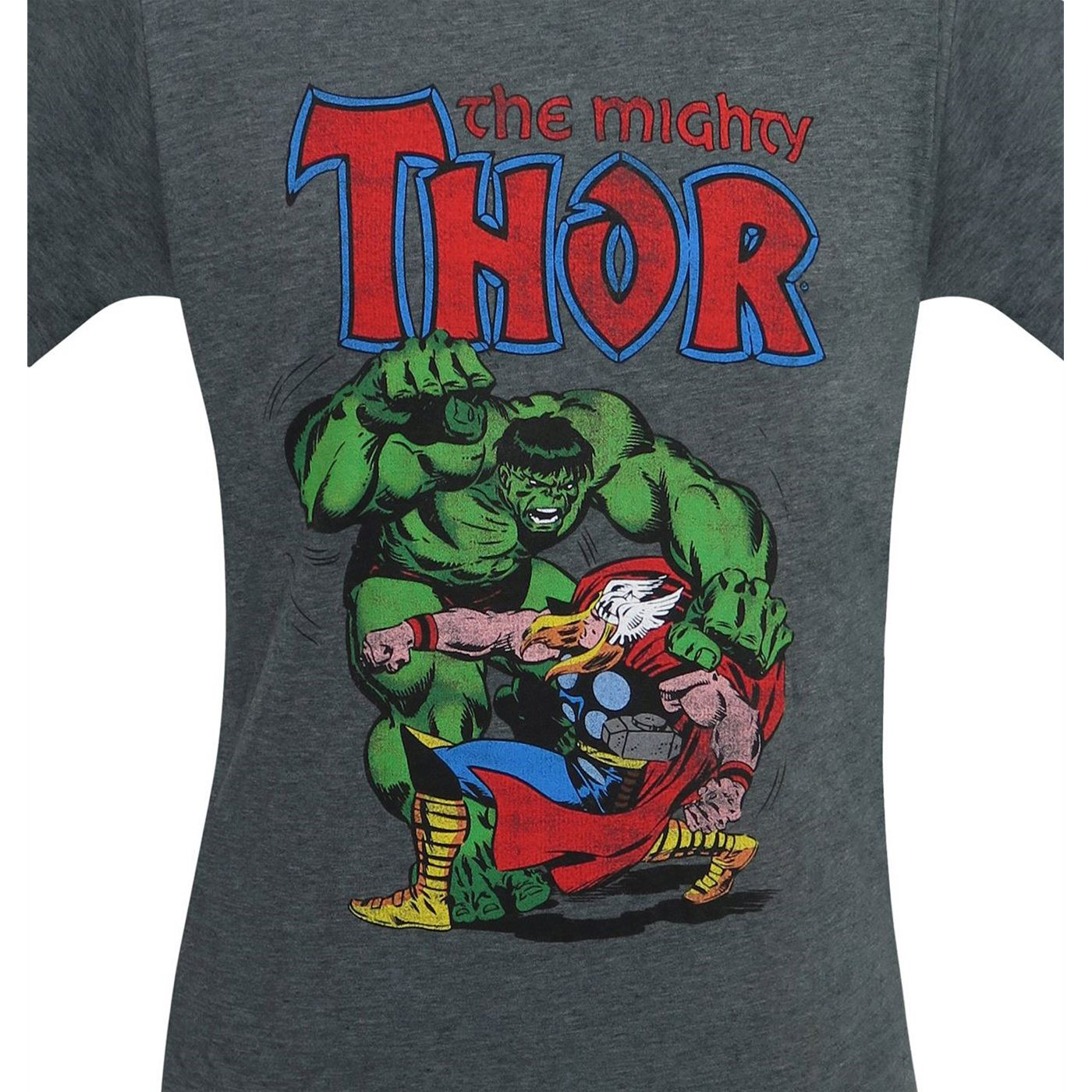 Thor Vs Hulk Men's T-Shirt