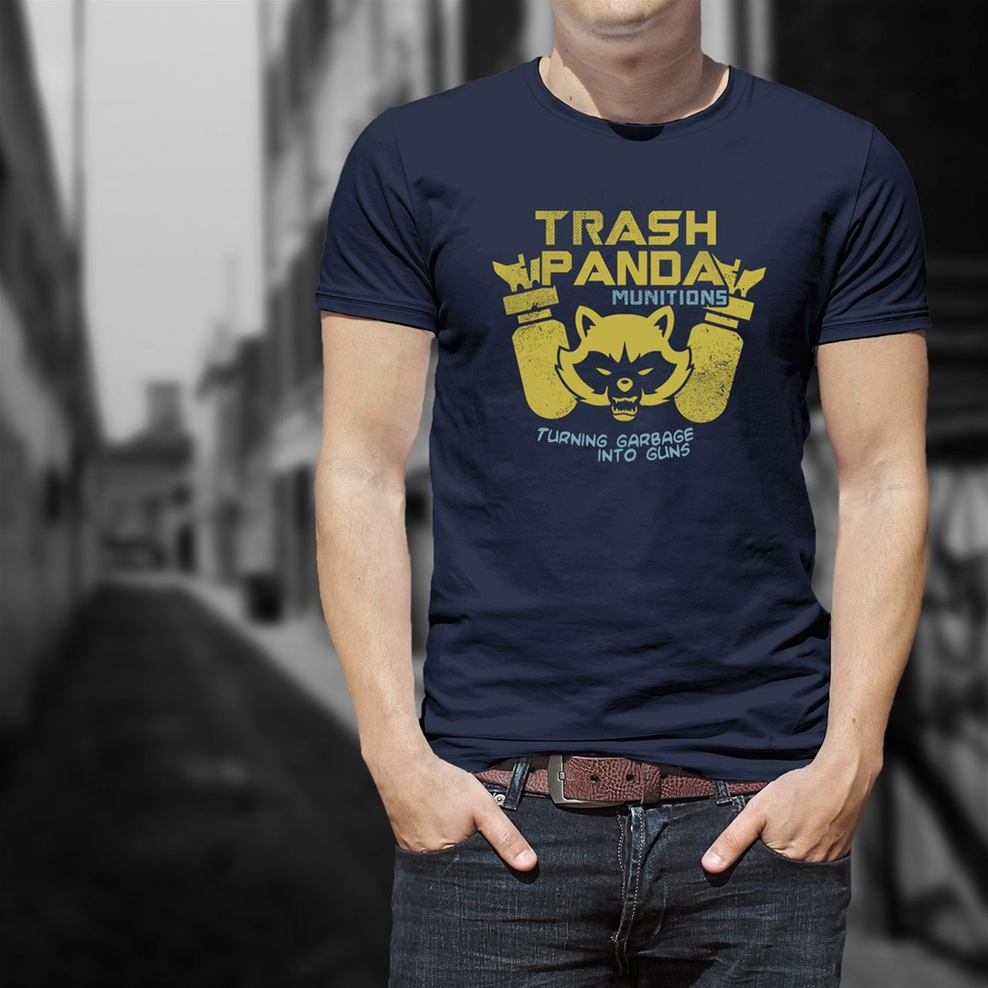 Trash Panda Munitions Men's T-Shirt