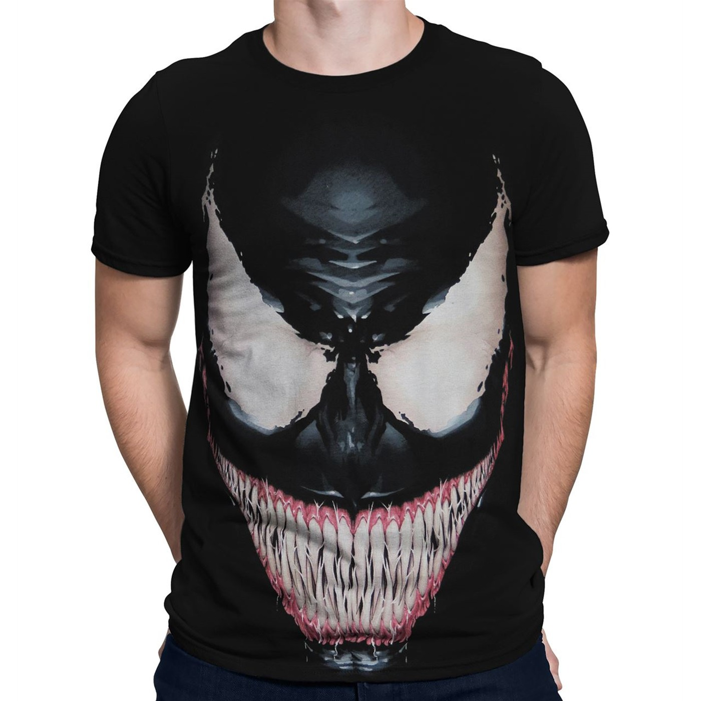 Venom Sinister Smile Men's T-Shirt