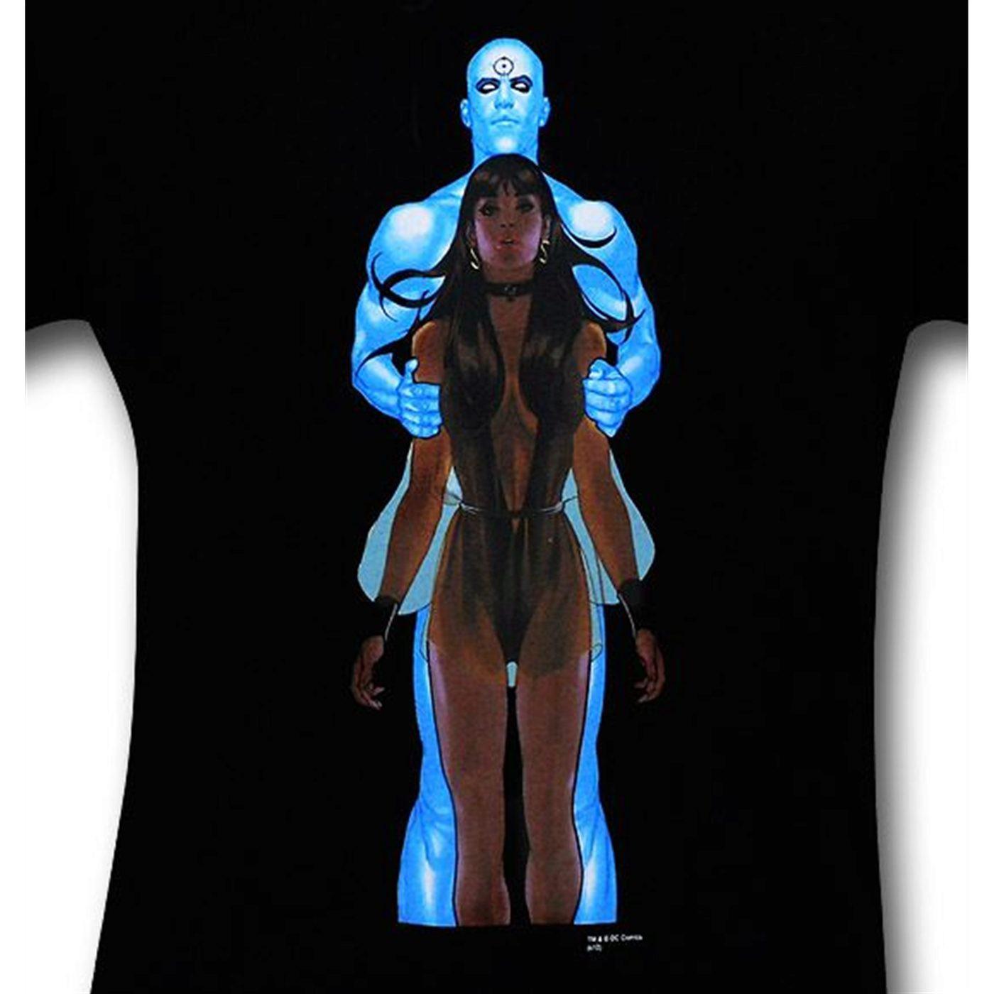 Watchmen Dr. Manhattan by Adam Hughes T-Shirt