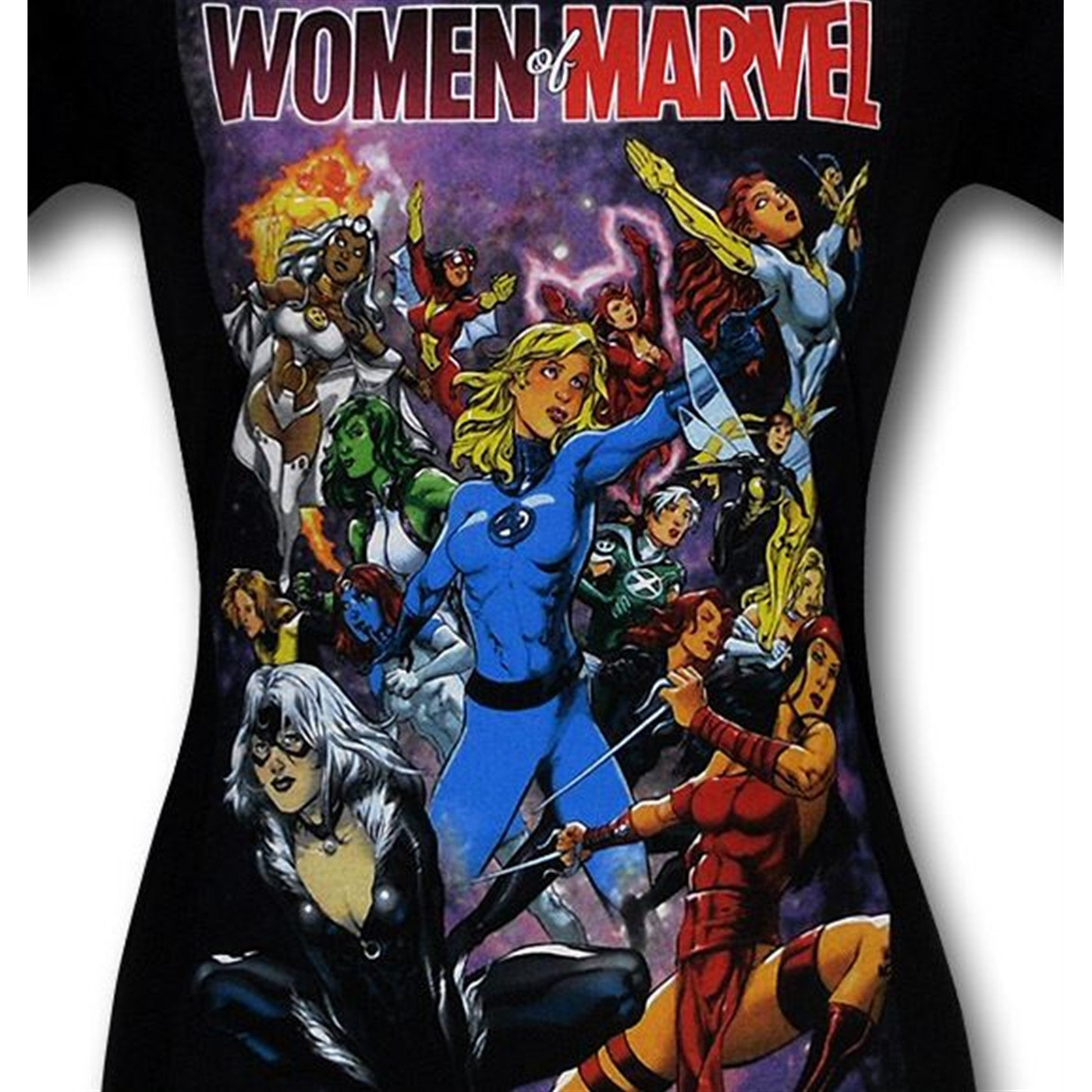 Women of Marvel Women's T-Shirt