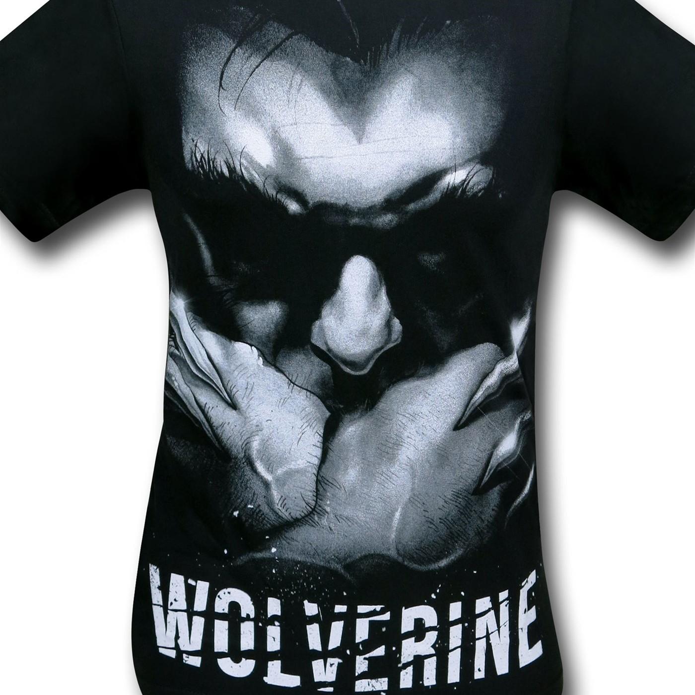 Wolverine Head Down Black T-Shirt