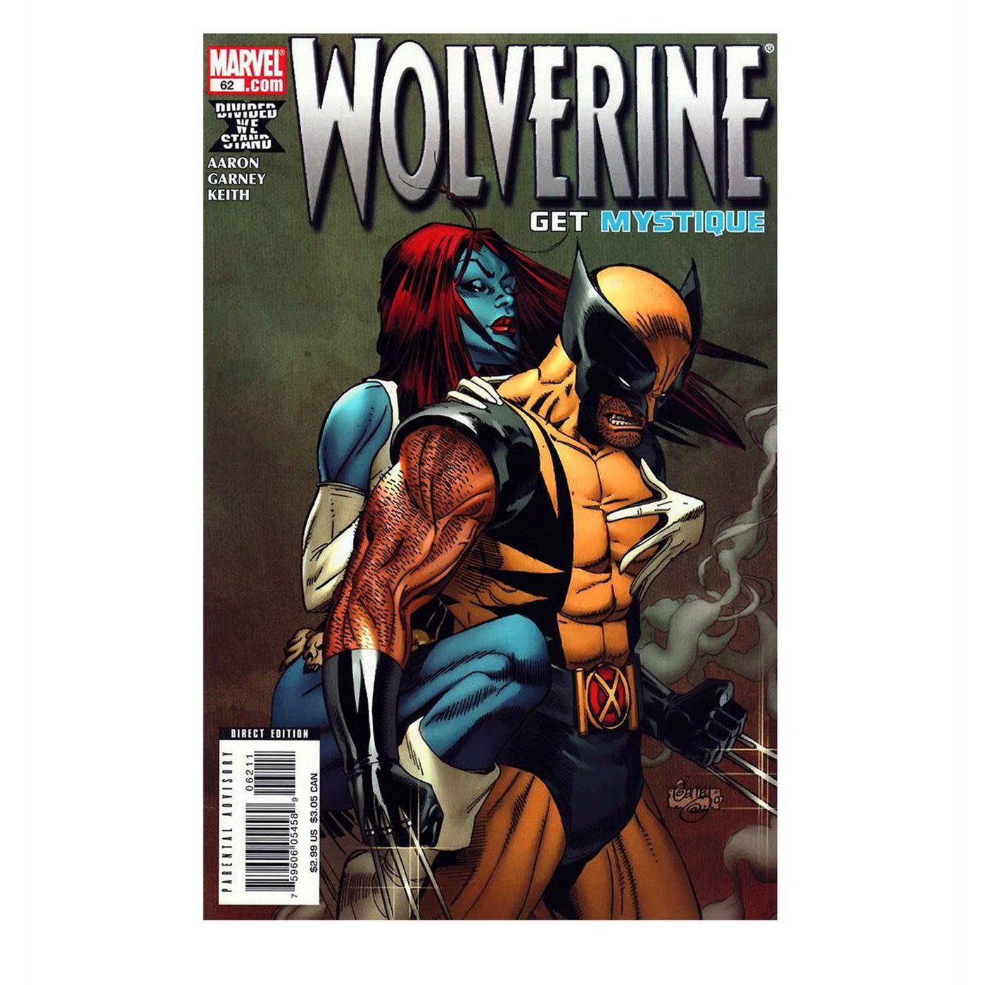 Wolverine and Mystique Men's T-Shirt