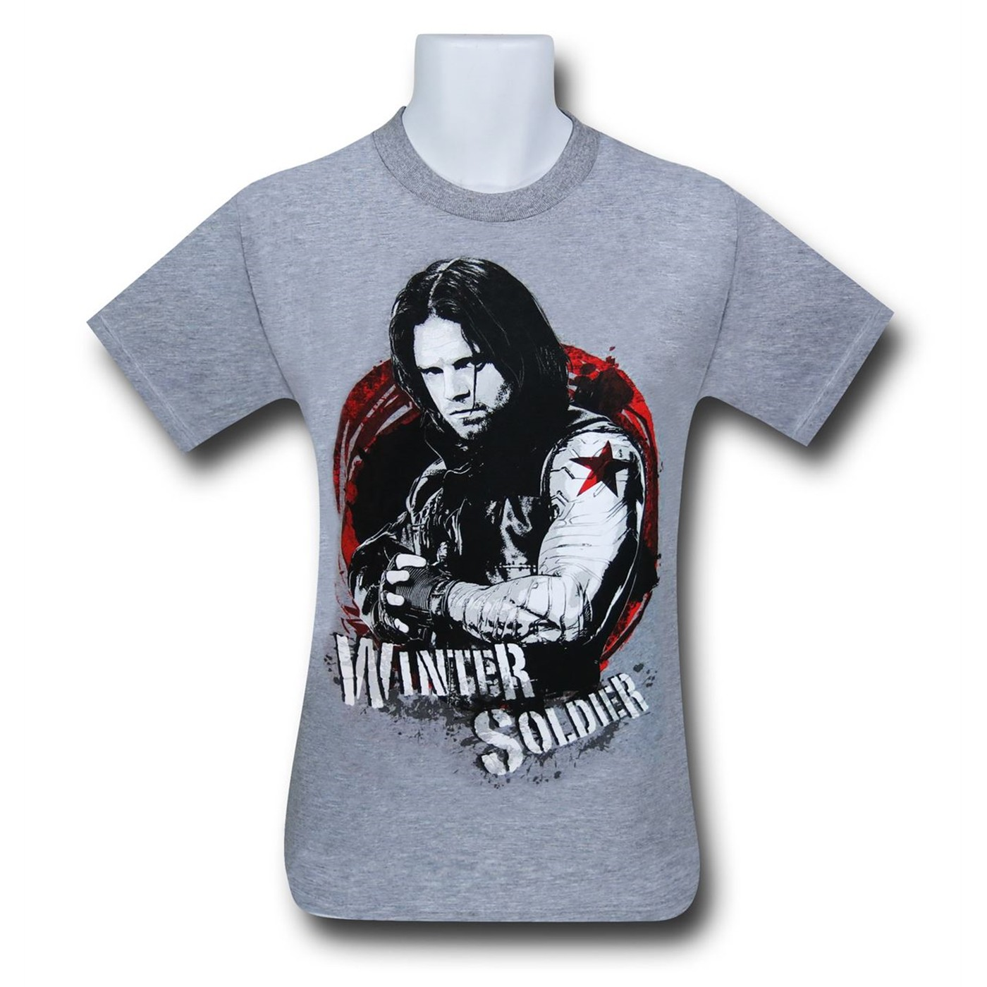 Captain America Civil War Winter Soldier T-Shirt