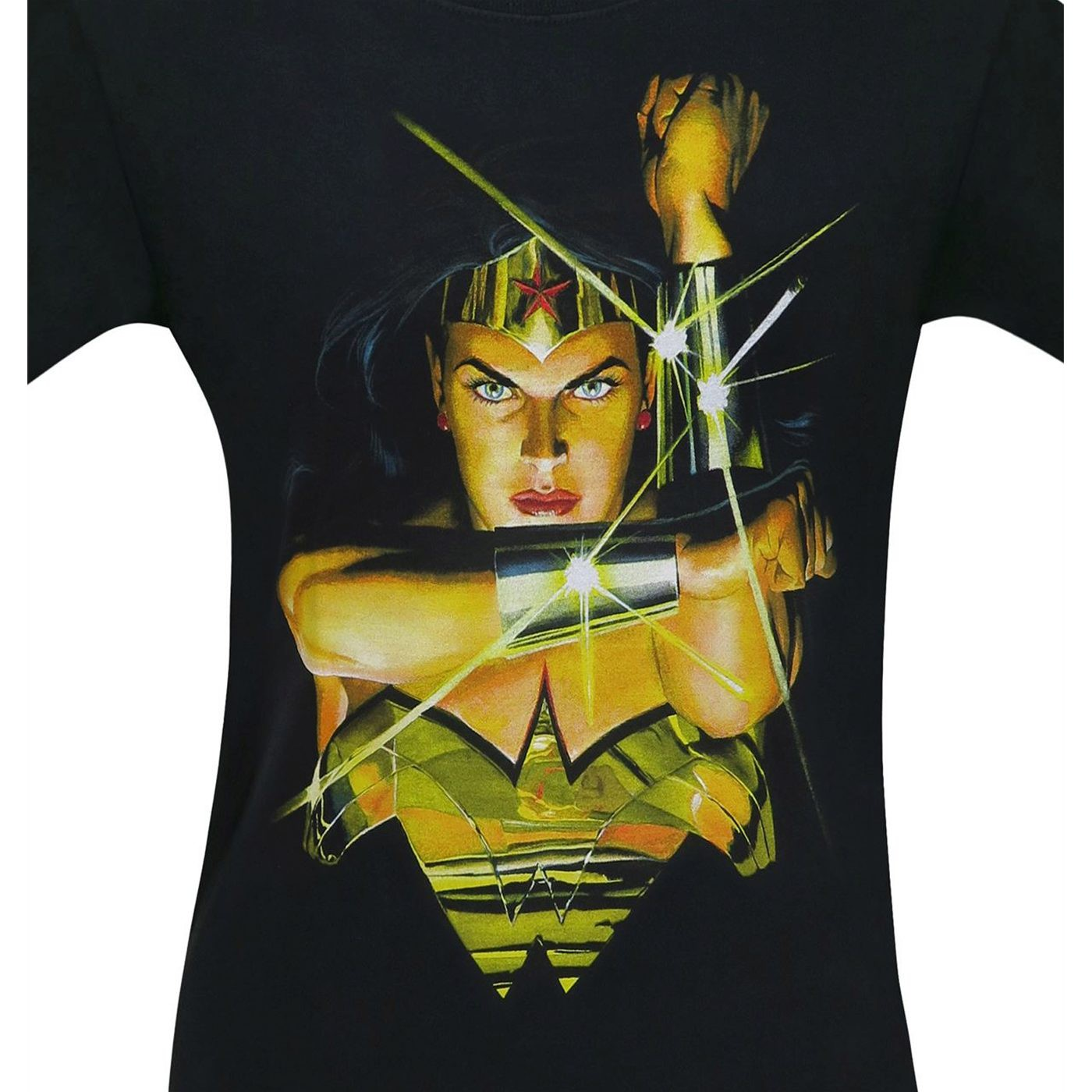 Wonder Woman Alex Ross Deflect Men's T-Shirt