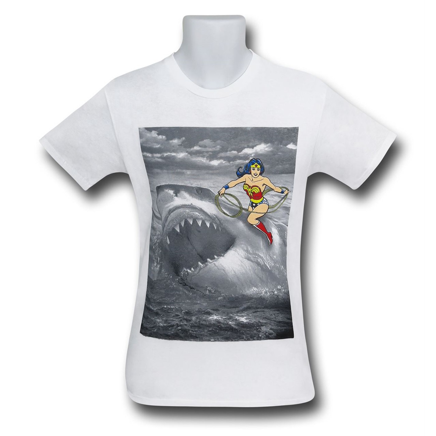 Wonder Woman Shark T-Shirt