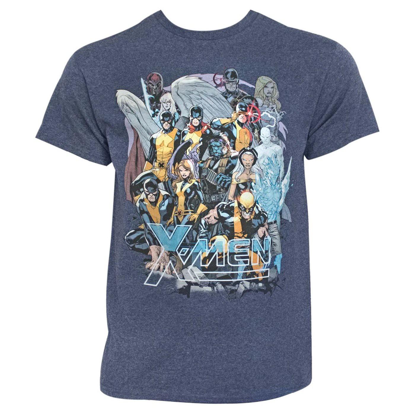 X-Men Past and Future United Men's T-Shirt