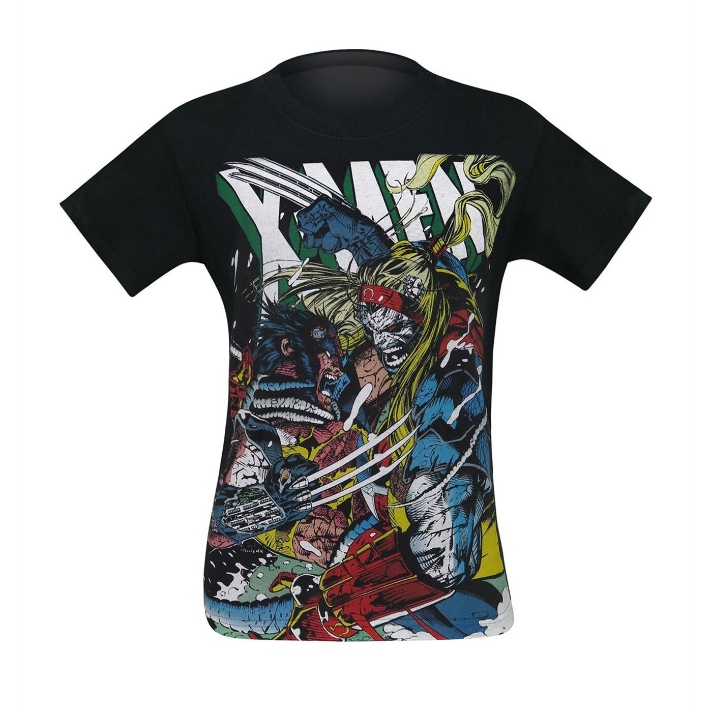 X-Men Wolverine Vs Omega Red Men's T-Shirt