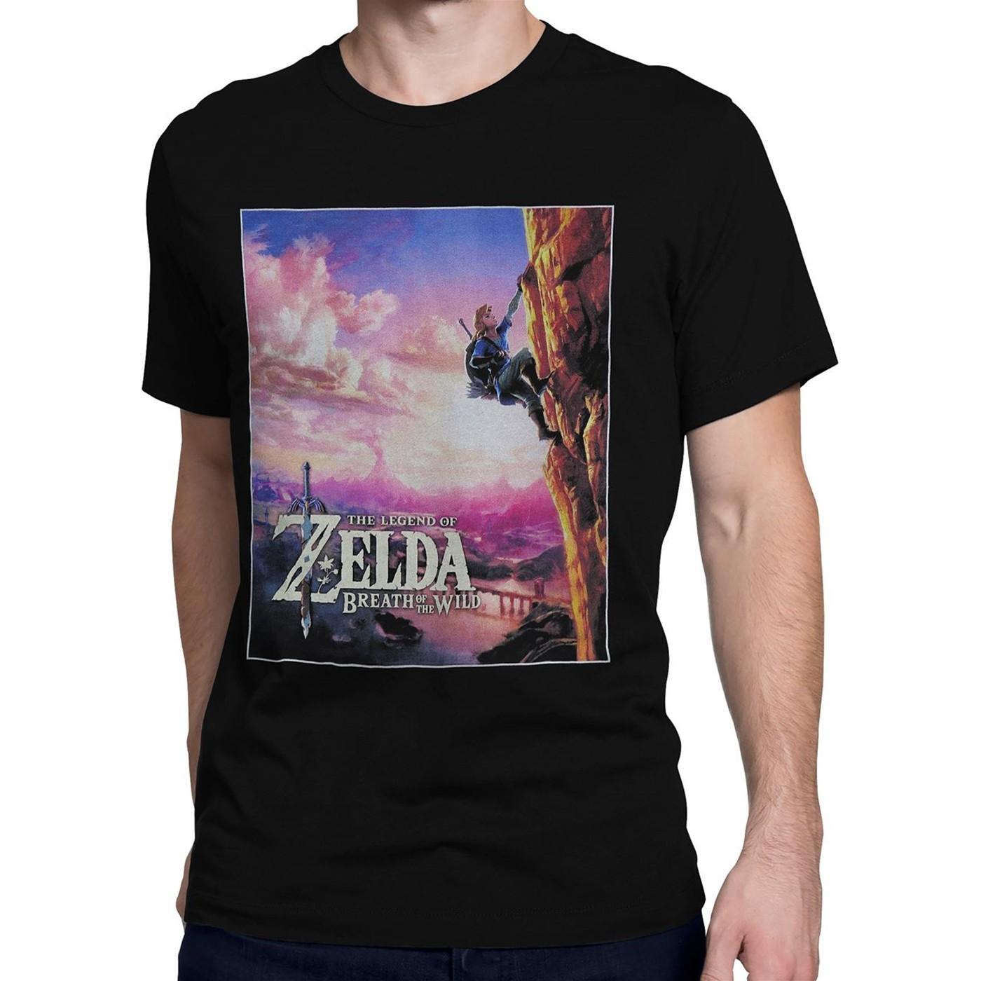 Legend of Zelda Breath of the Wild Sunset Men's T-Shirt