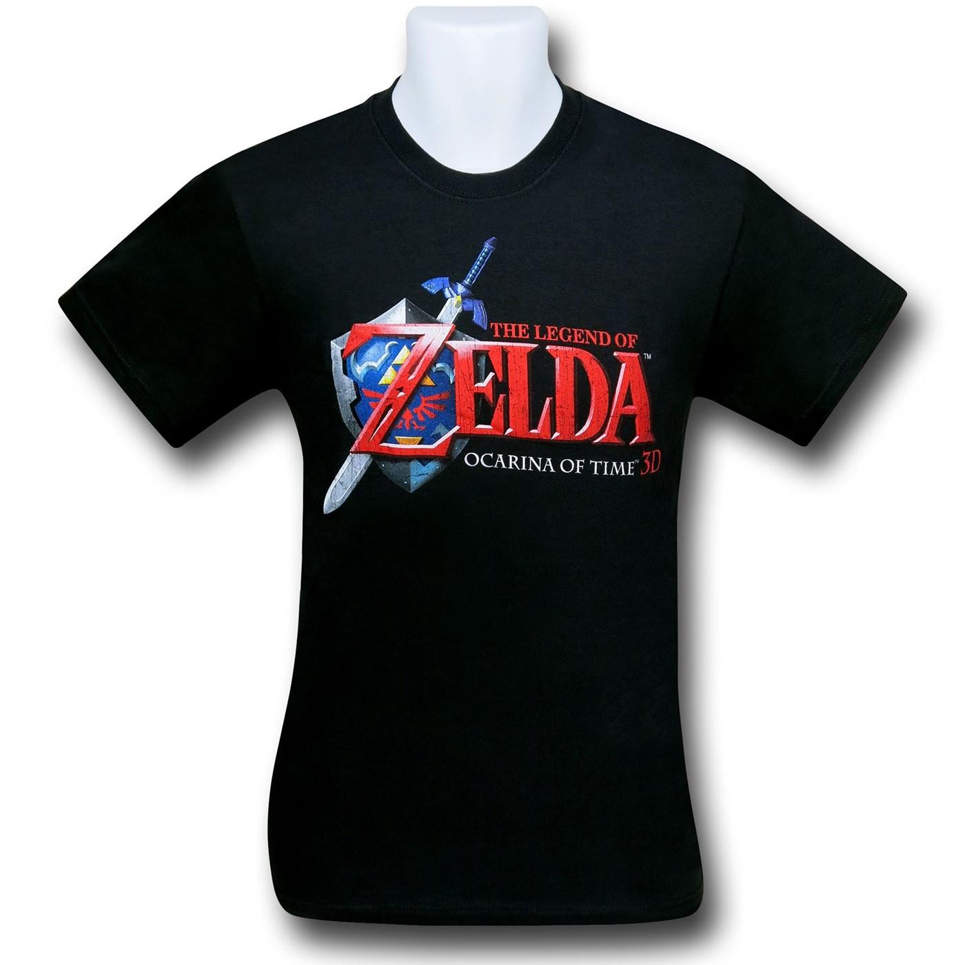 Legend of Zelda Ocarina Logo T-Shirt