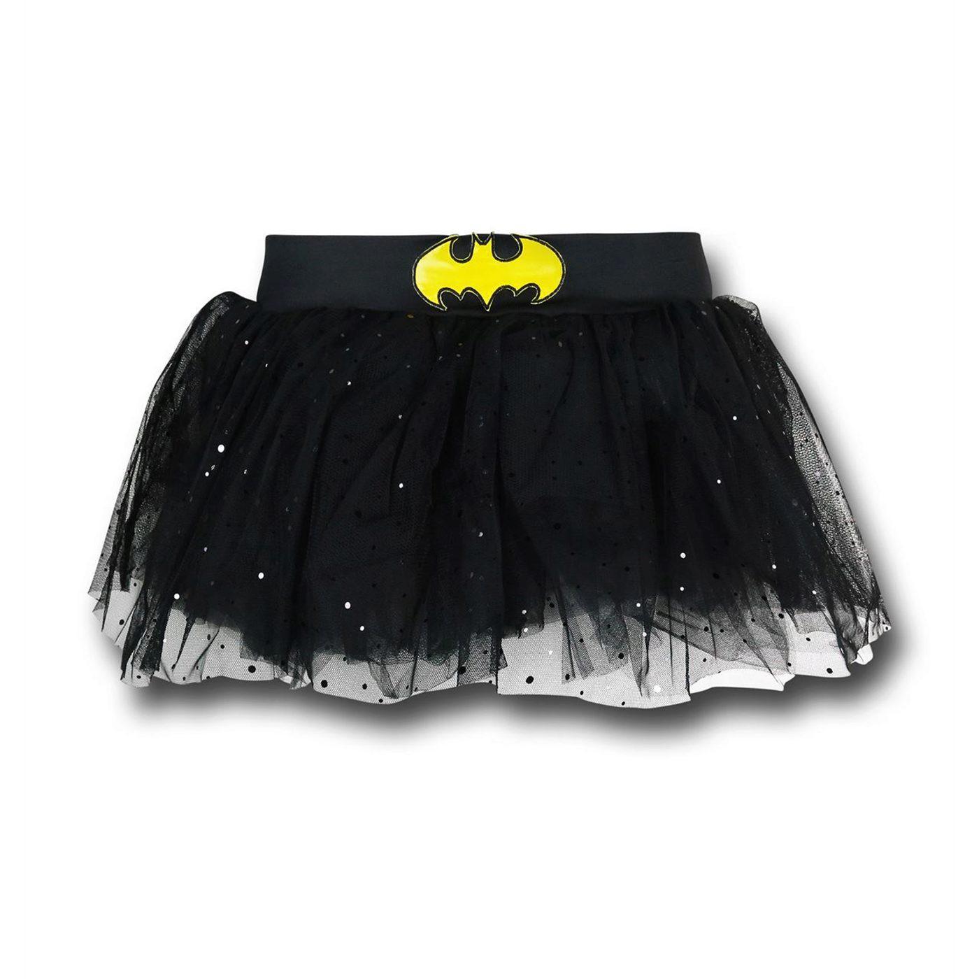 Batgirl Symbol Costume Tutu