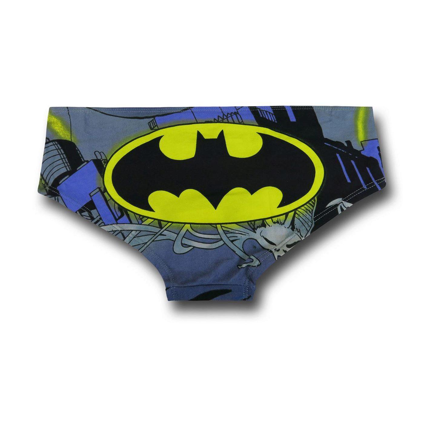 Batman Flying Rays Women's Panty