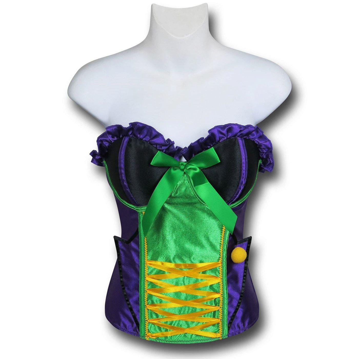 Joker Costume Corset