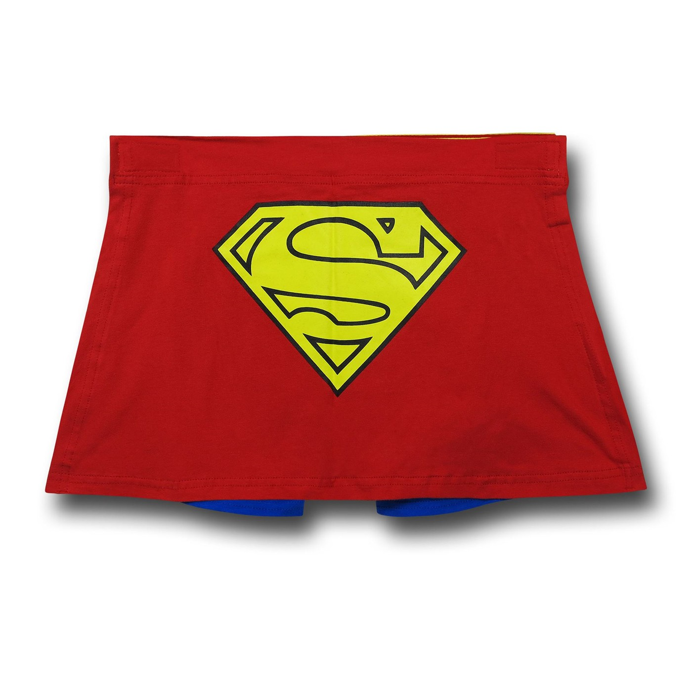 Superman Red and Blue Caped Boxer Briefs