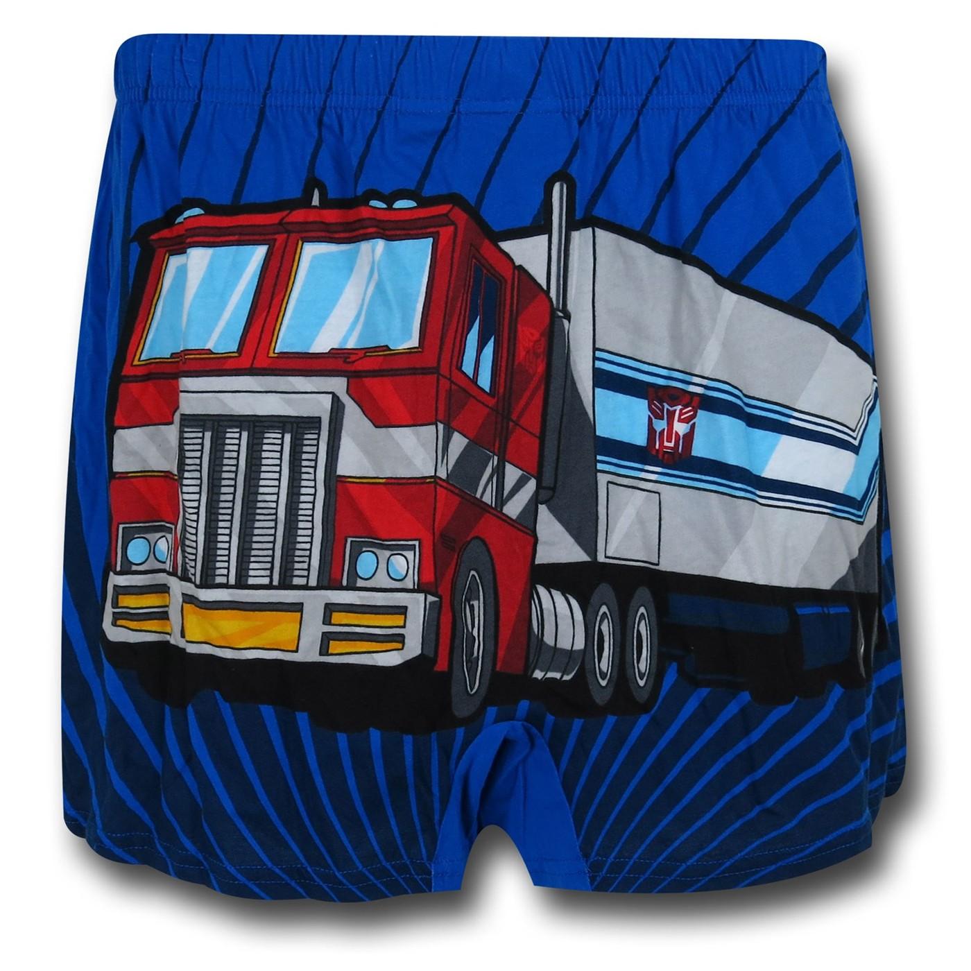 Transformers Optimus Heavy Metal Boxers