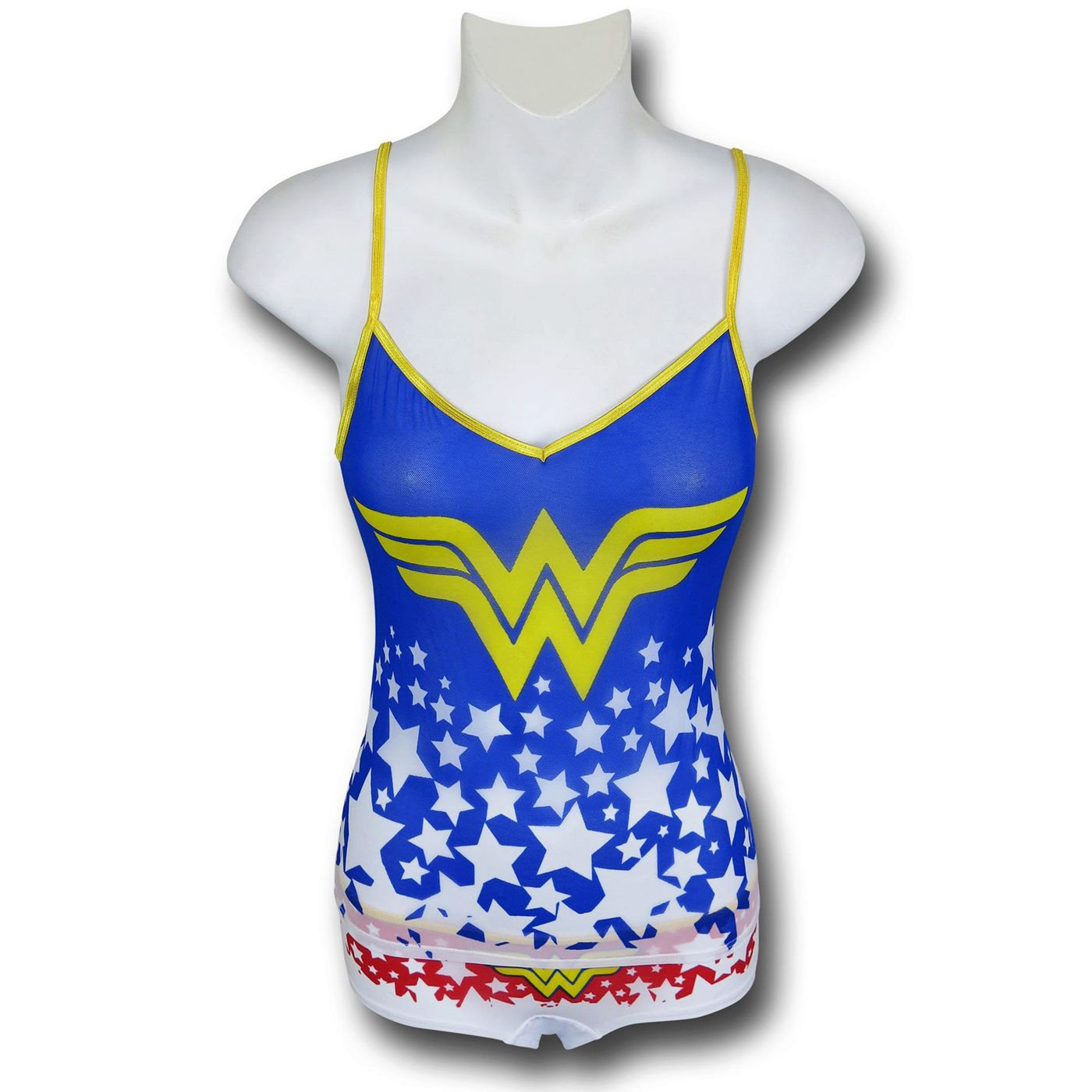 Wonder Woman Mesh Women's Cami & Panty Set
