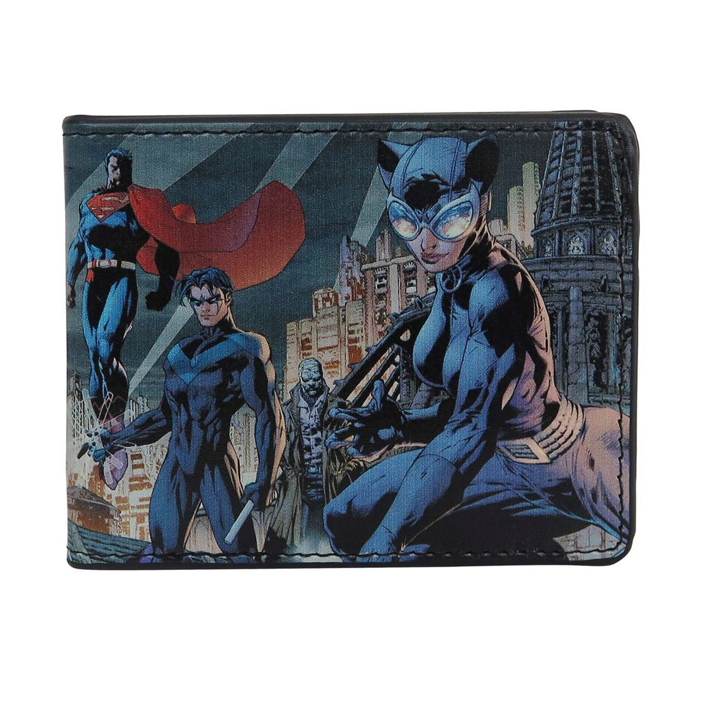Batman Hush #619 Cover Men's Bi-Fold Wallet
