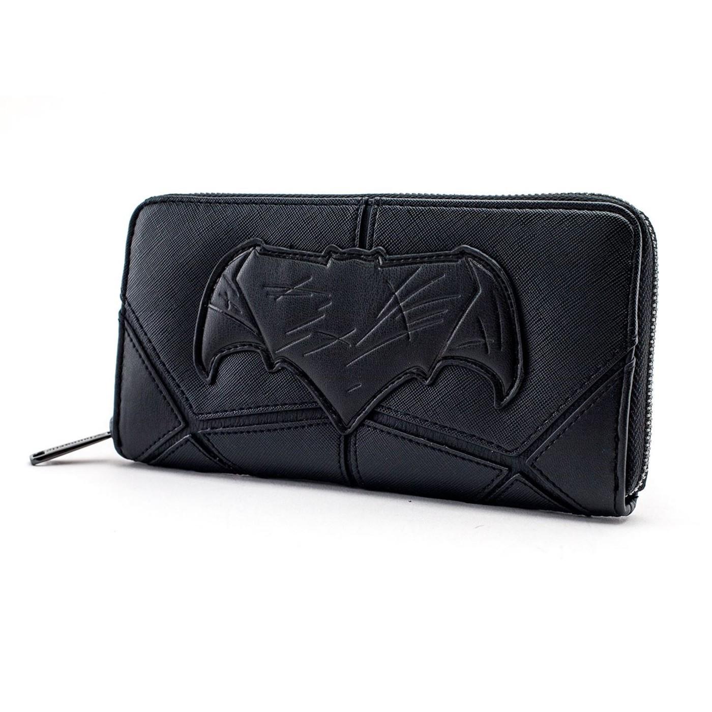 Batman Justice League Armor Zip Around Wallet