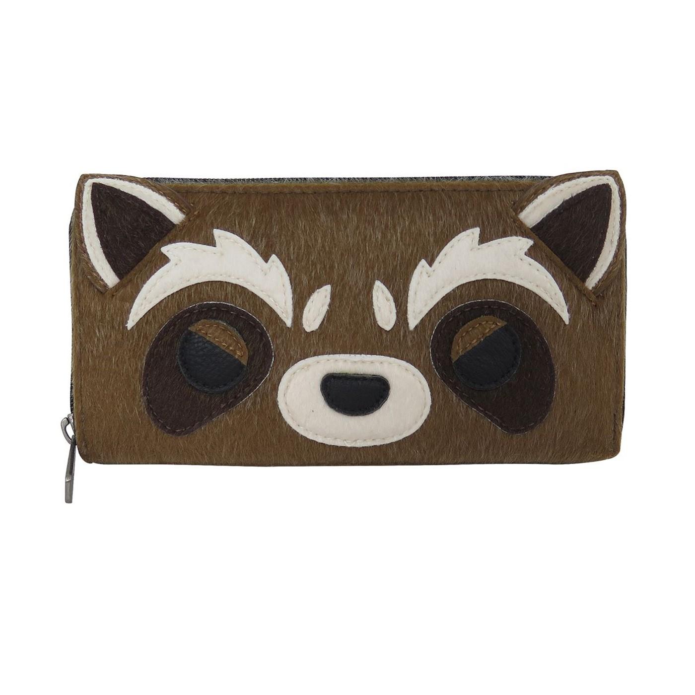GOTG Rocket Raccoon Loungefly Zip Around Wallet