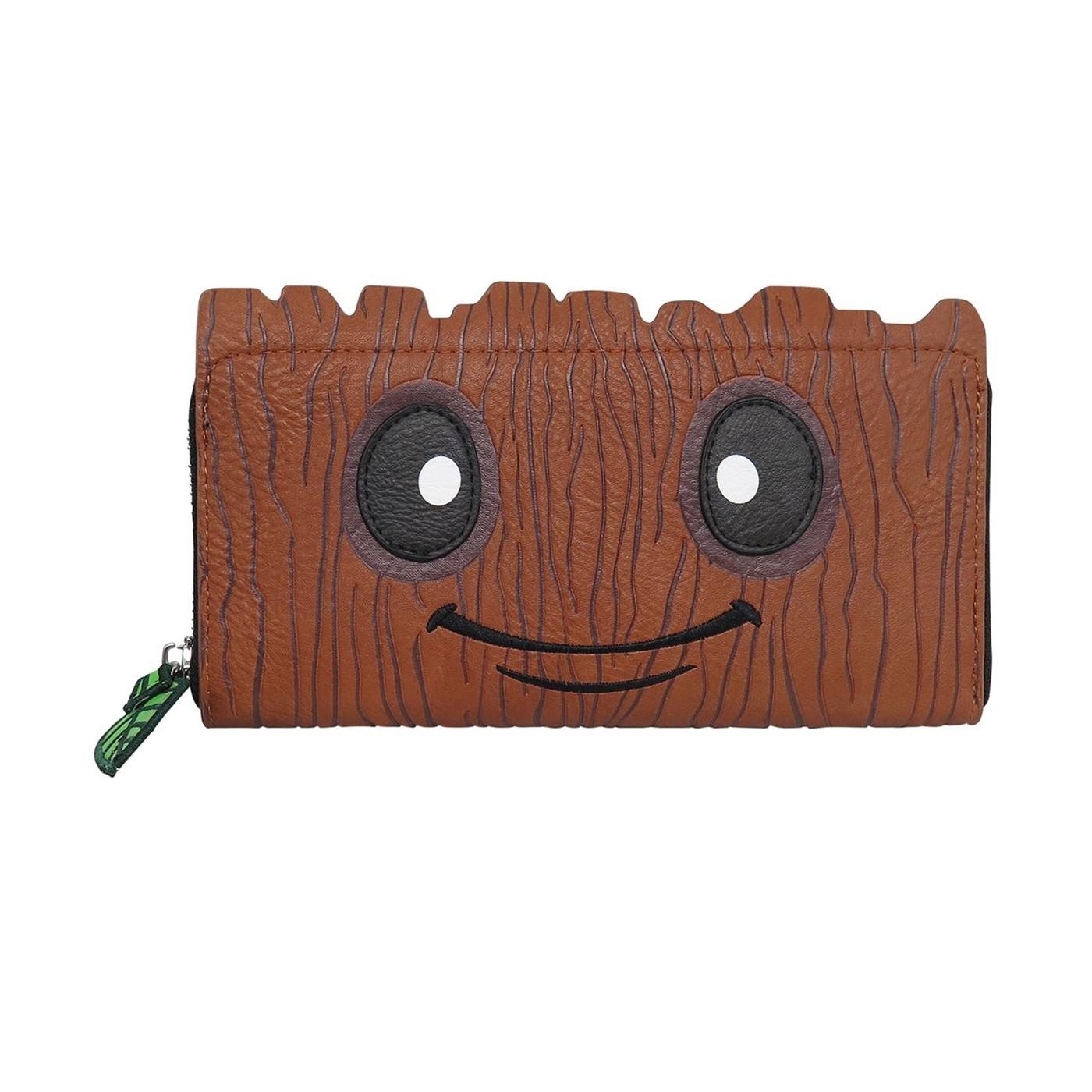 Baby Groot Women's Loungefly Zip Around Wallet