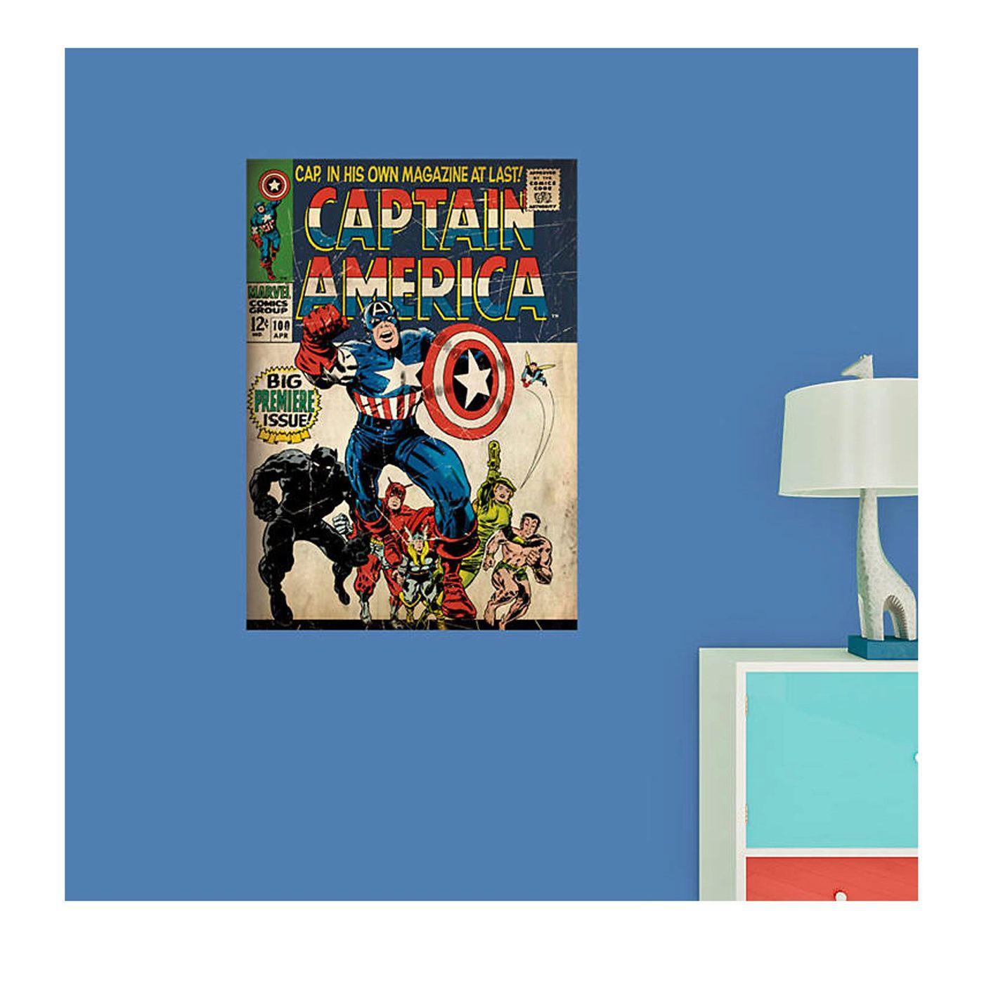 Captain America #100 Cover Fathead