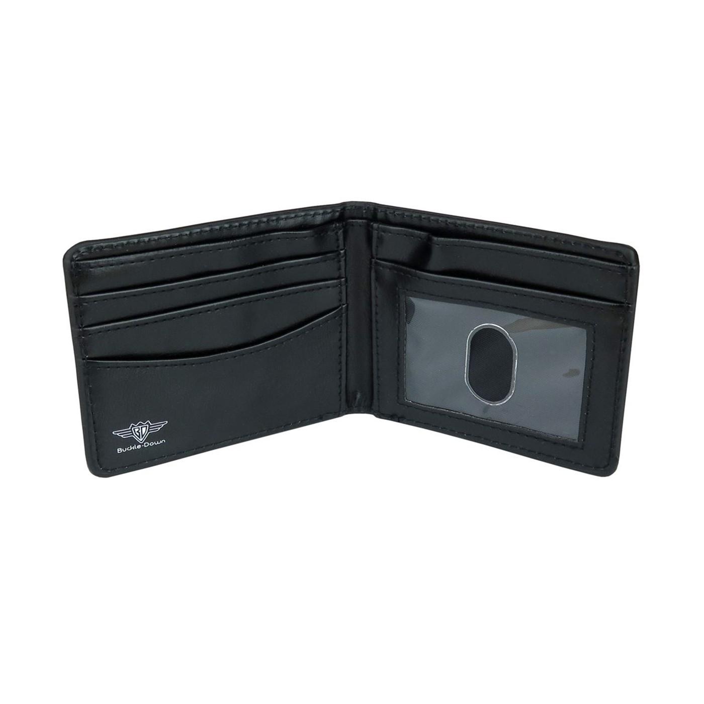 Captain Marvel Logo Bi-Fold Wallet