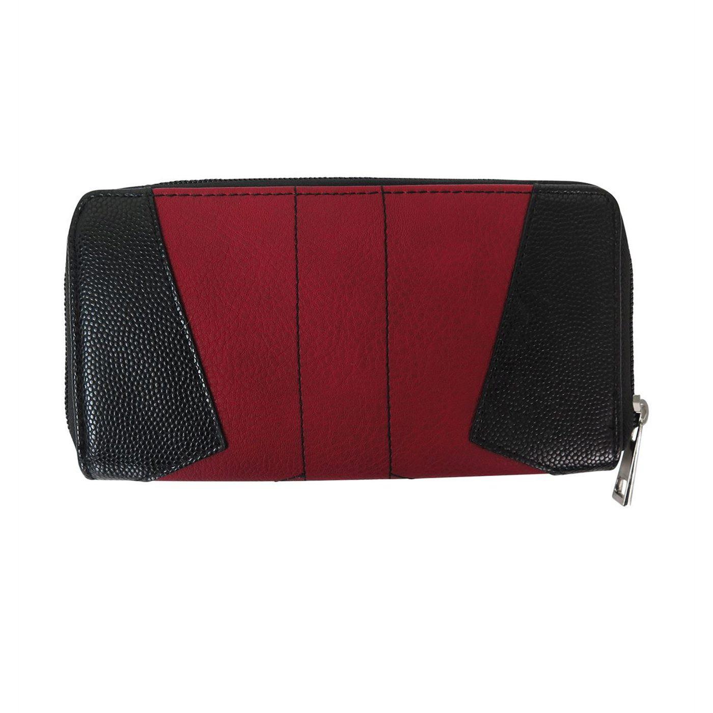 Deadpool Suit Up Women's Zipper Wallet