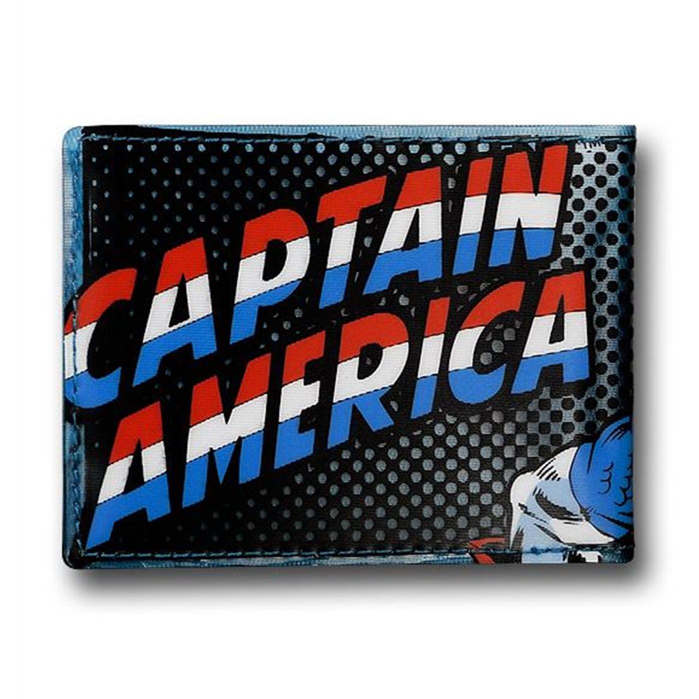 Captain America See-Thru Fat Free Wallet