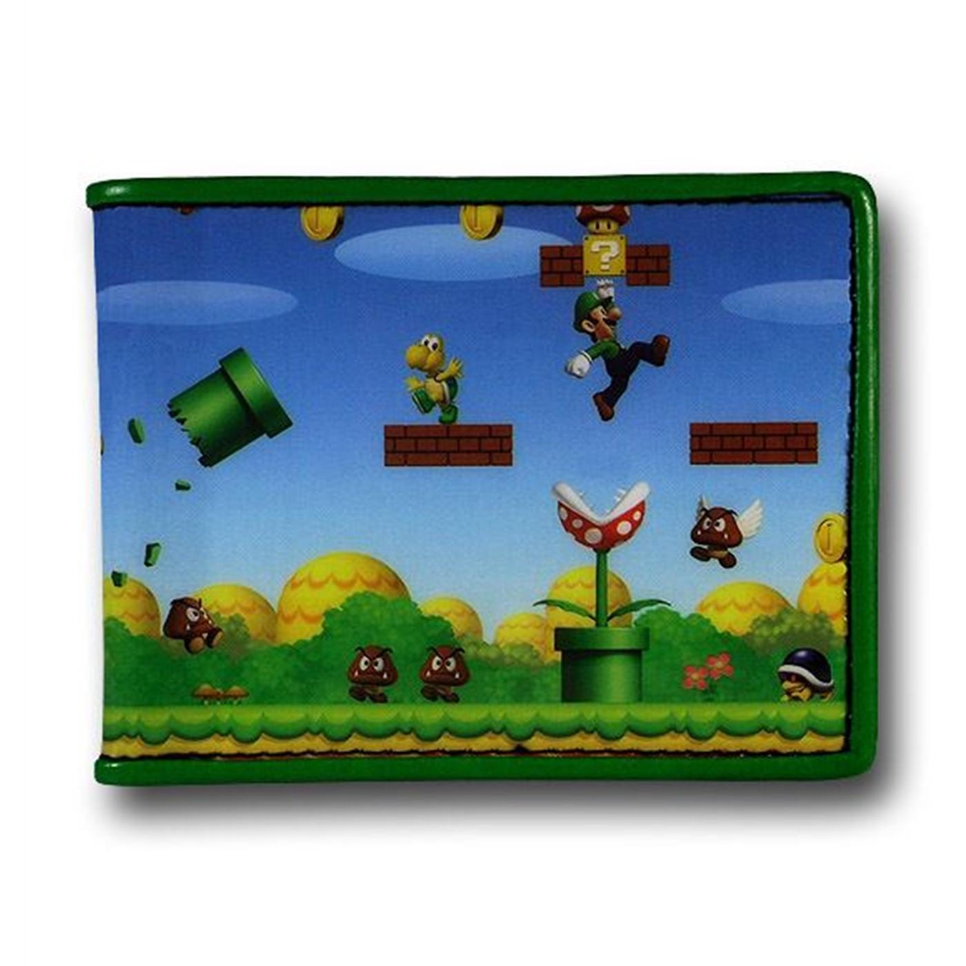 Nintendo Mario Bi-Fold Wallet