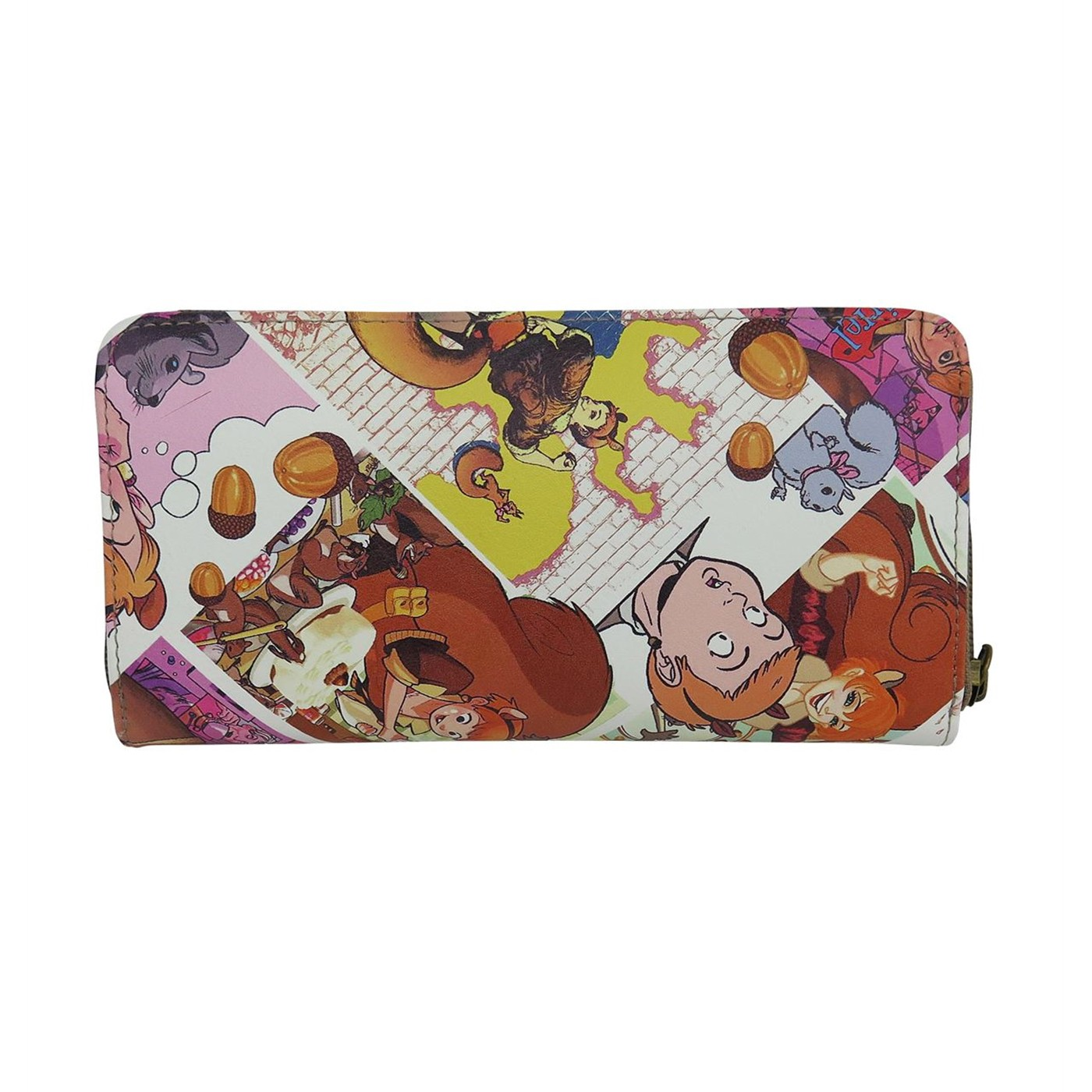 Squirrel Girl Got Nuts! Women's Zip Around Wallet