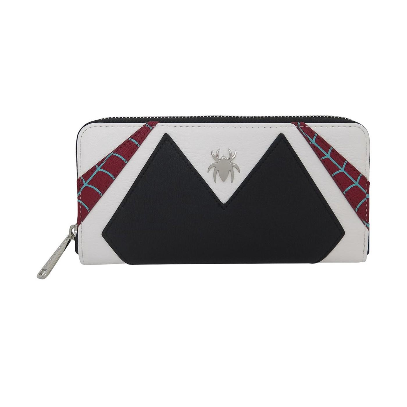 Spider-Gwen Loungefly Zip Around Wallet