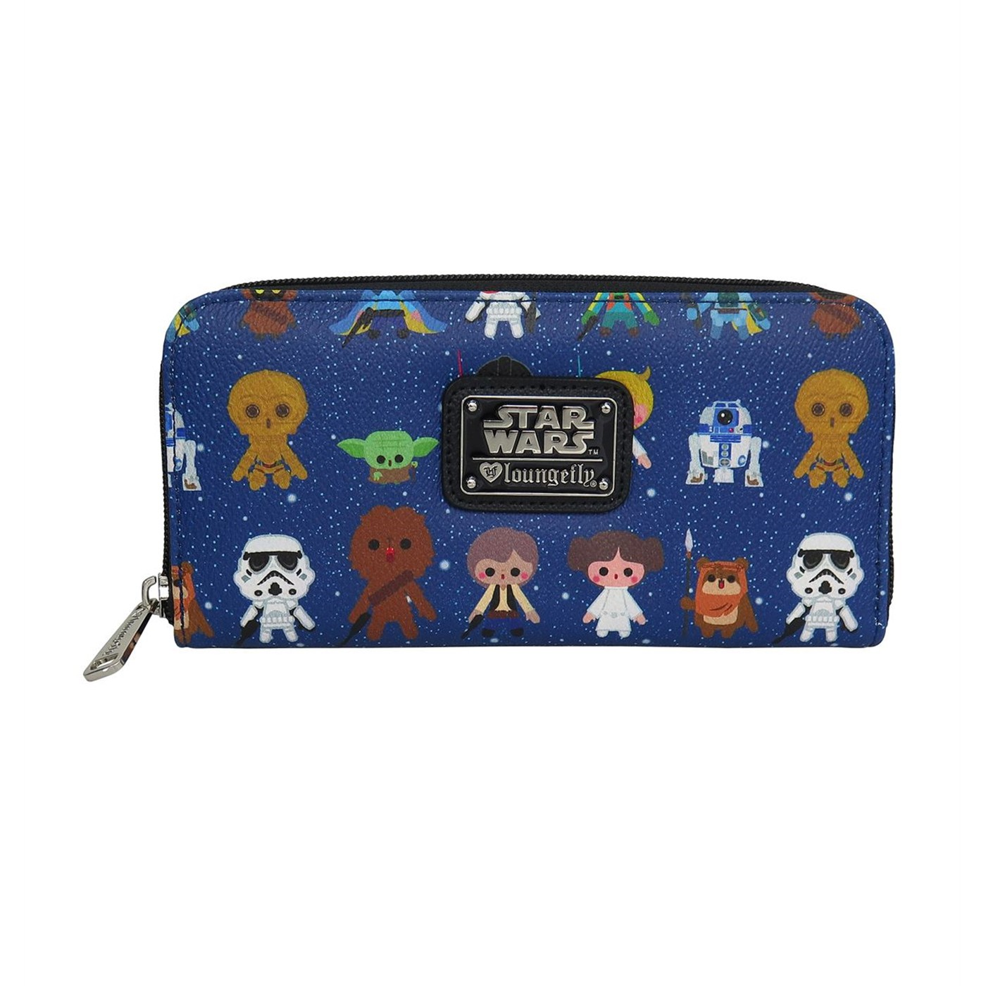 Star Wars Baby Characters Women's Zip Around Wallet