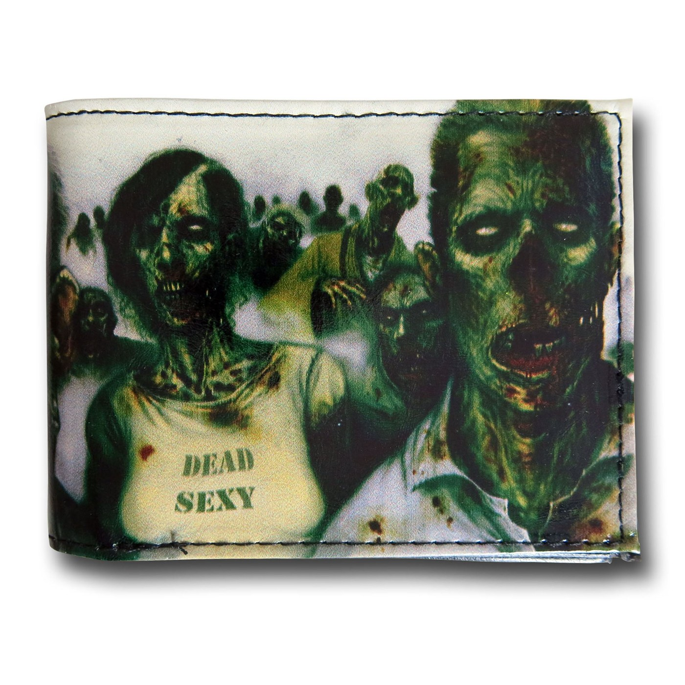 Zombie March Bi-Fold Wallet