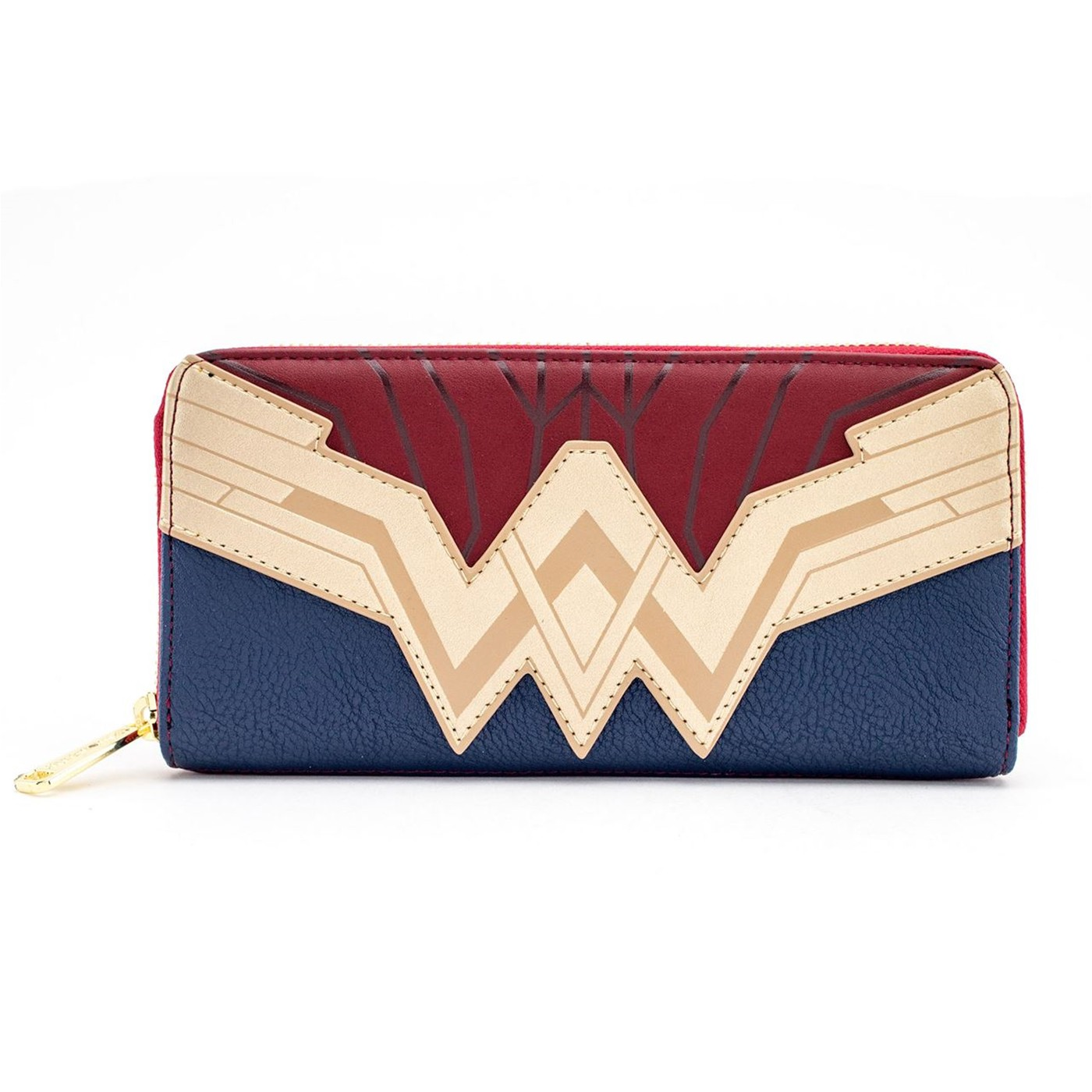 Wonder Woman Justice League Armor Zip Around Wallet