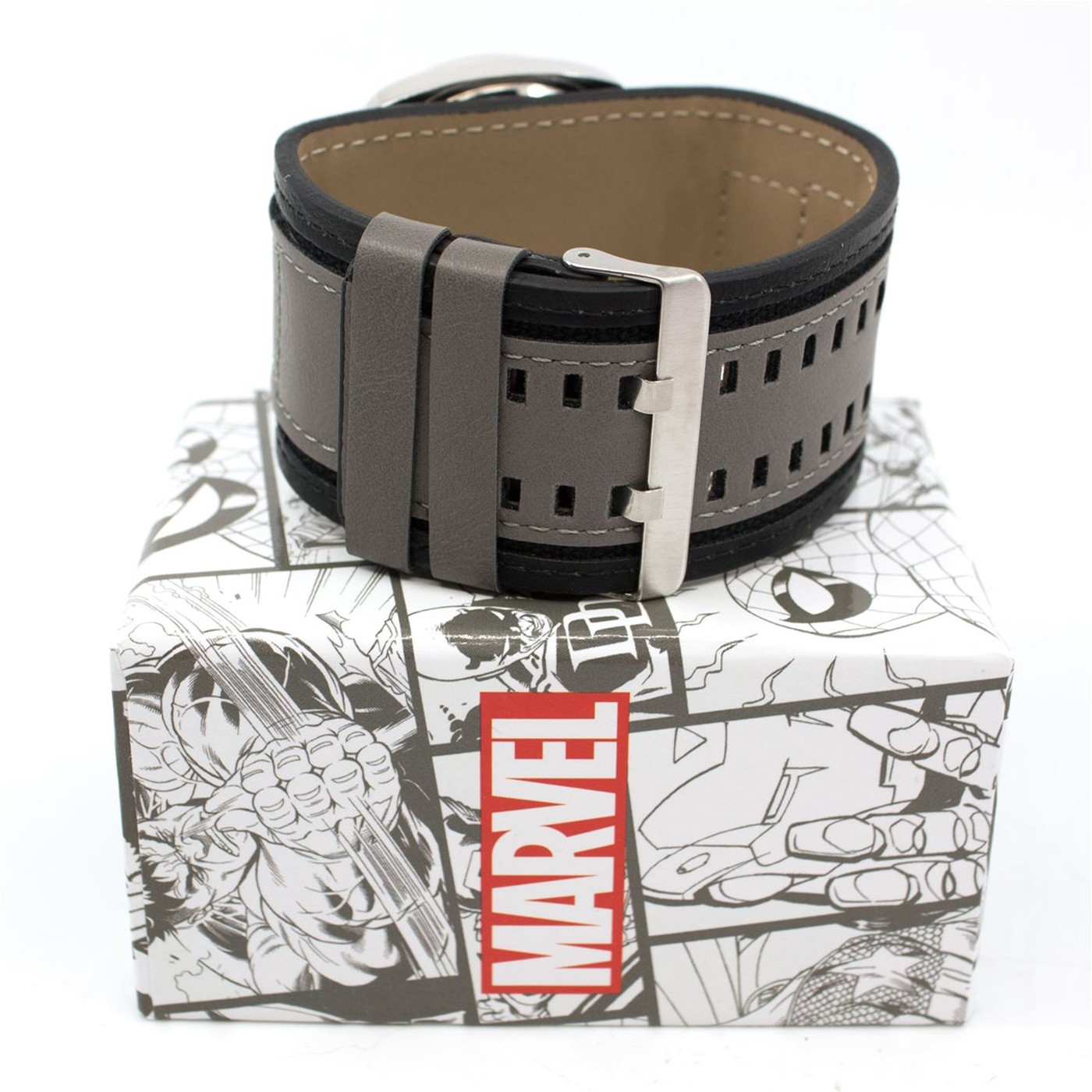 Avengers Symbol Watch with Dual Fasten Adjustable Strap