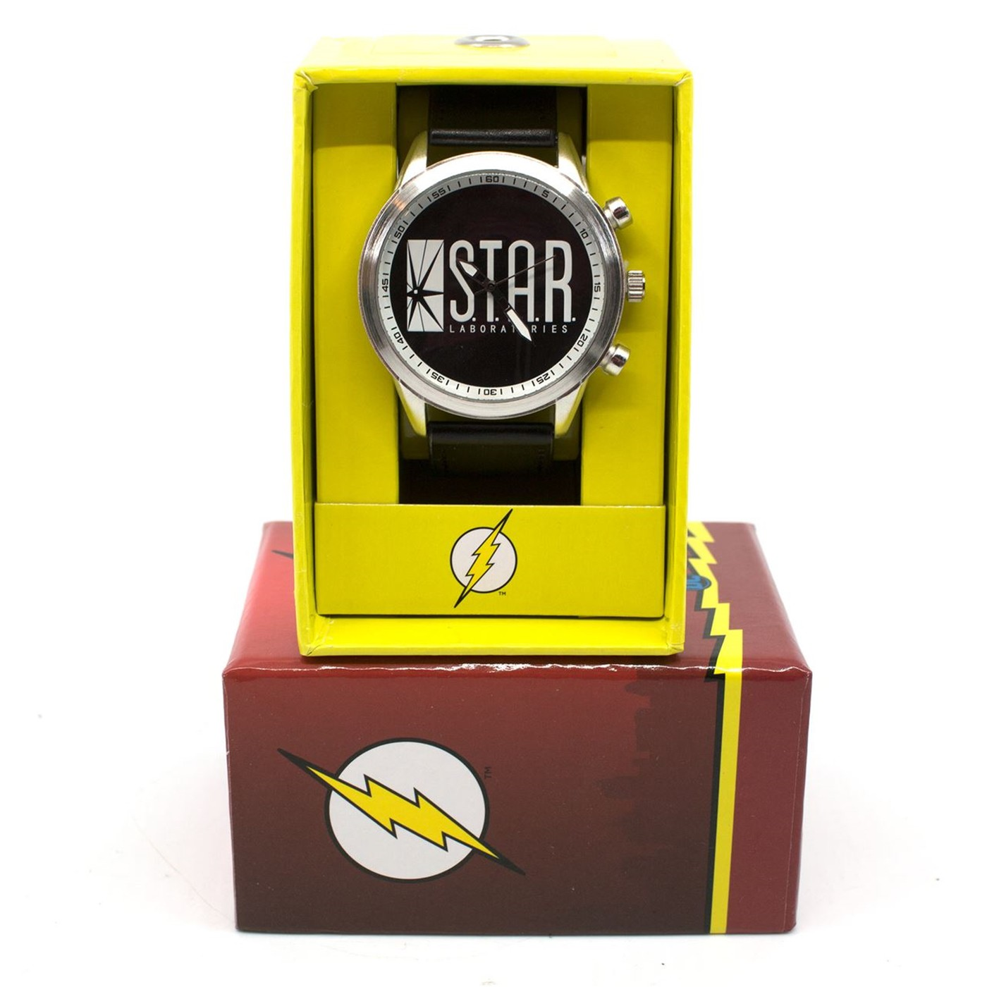 Flash Star Laboratories Watch with Adjustable Strap