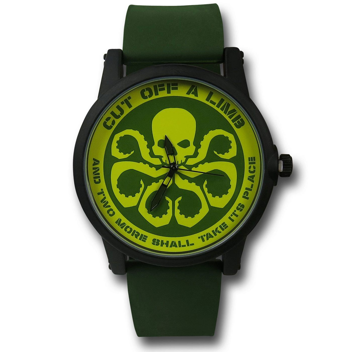 Hydra Watch with Silicone Band