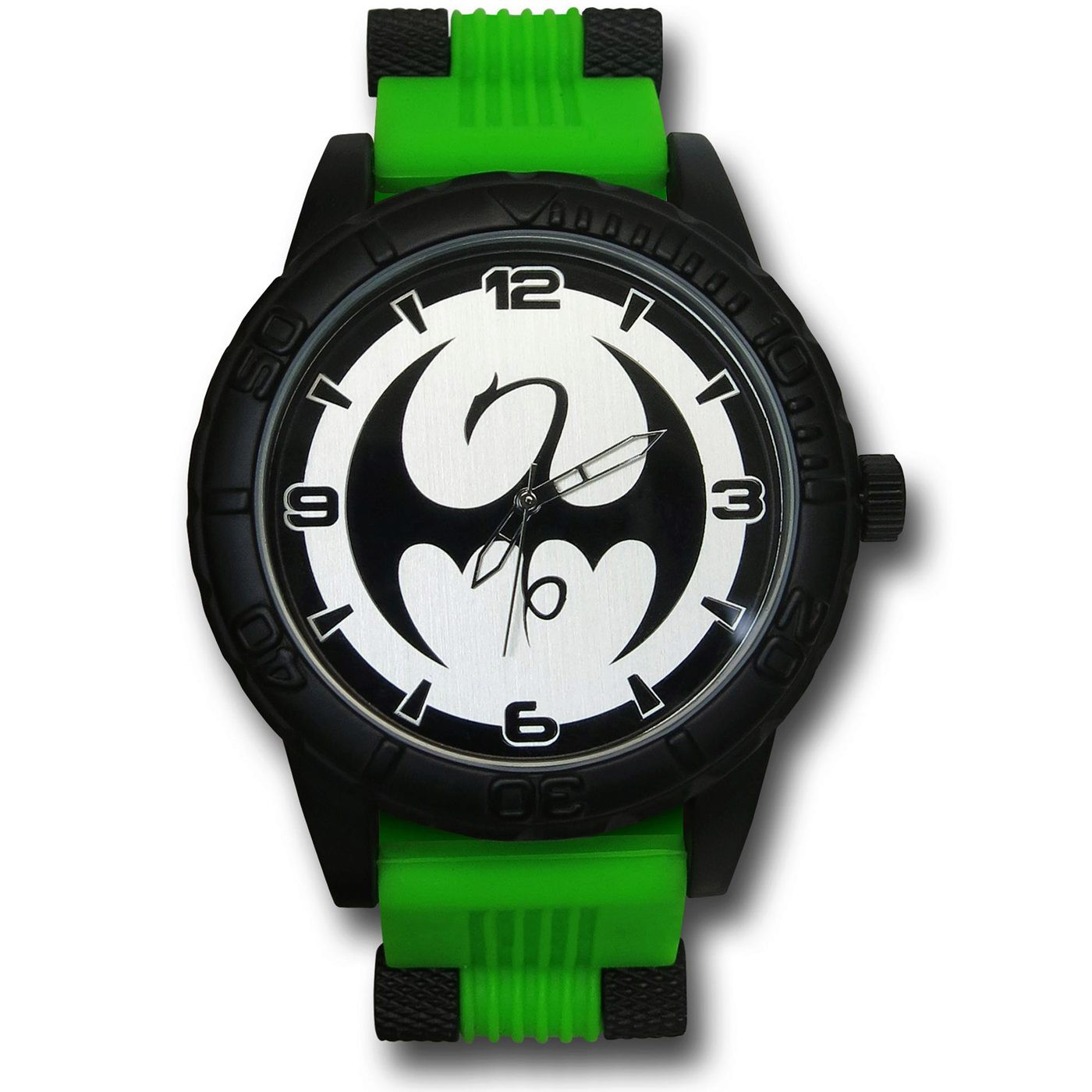 Iron Fist Watch with Silicone Band