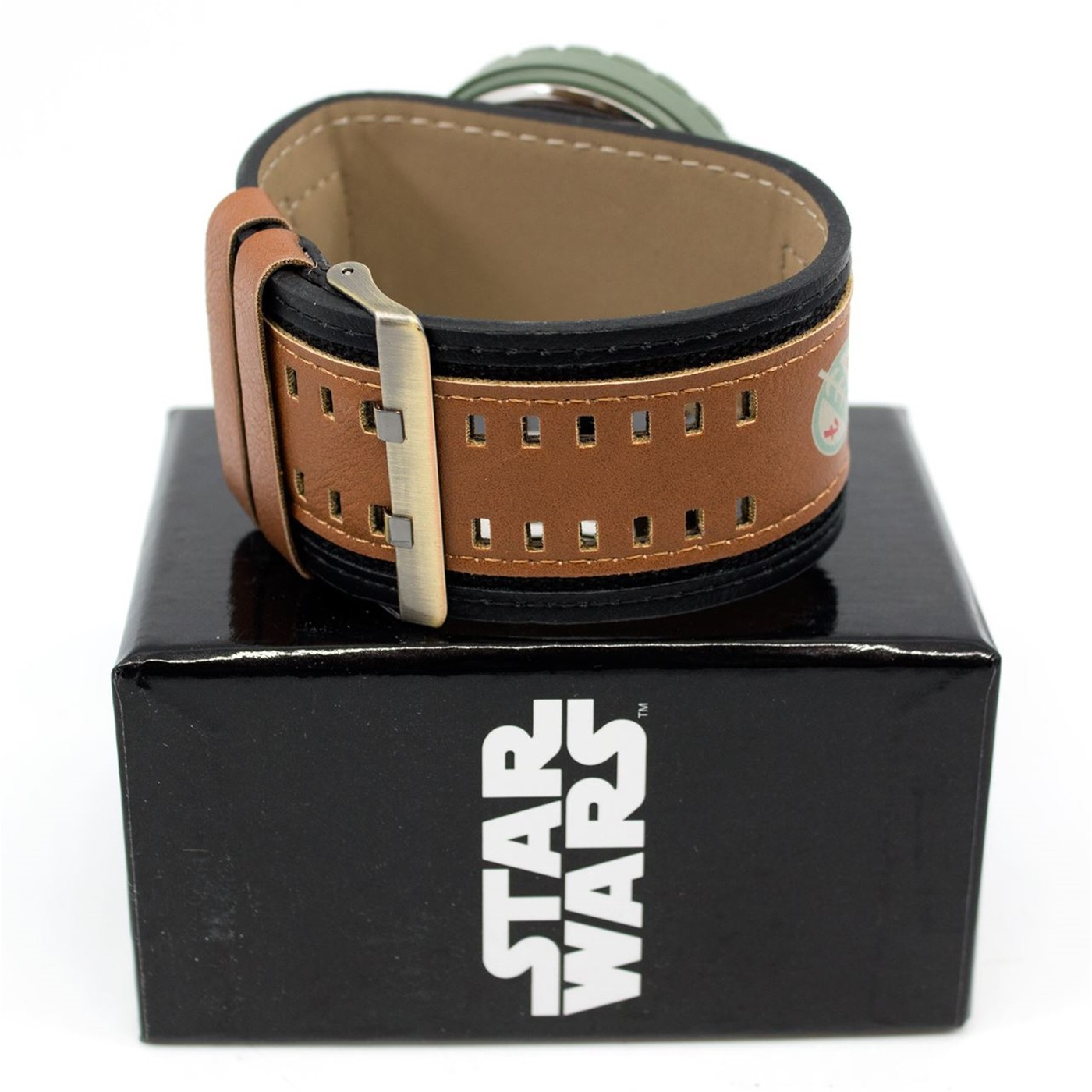 Star Wars Boba Fett Mandalorian Watch with Dual Fasten Adjustable Strap