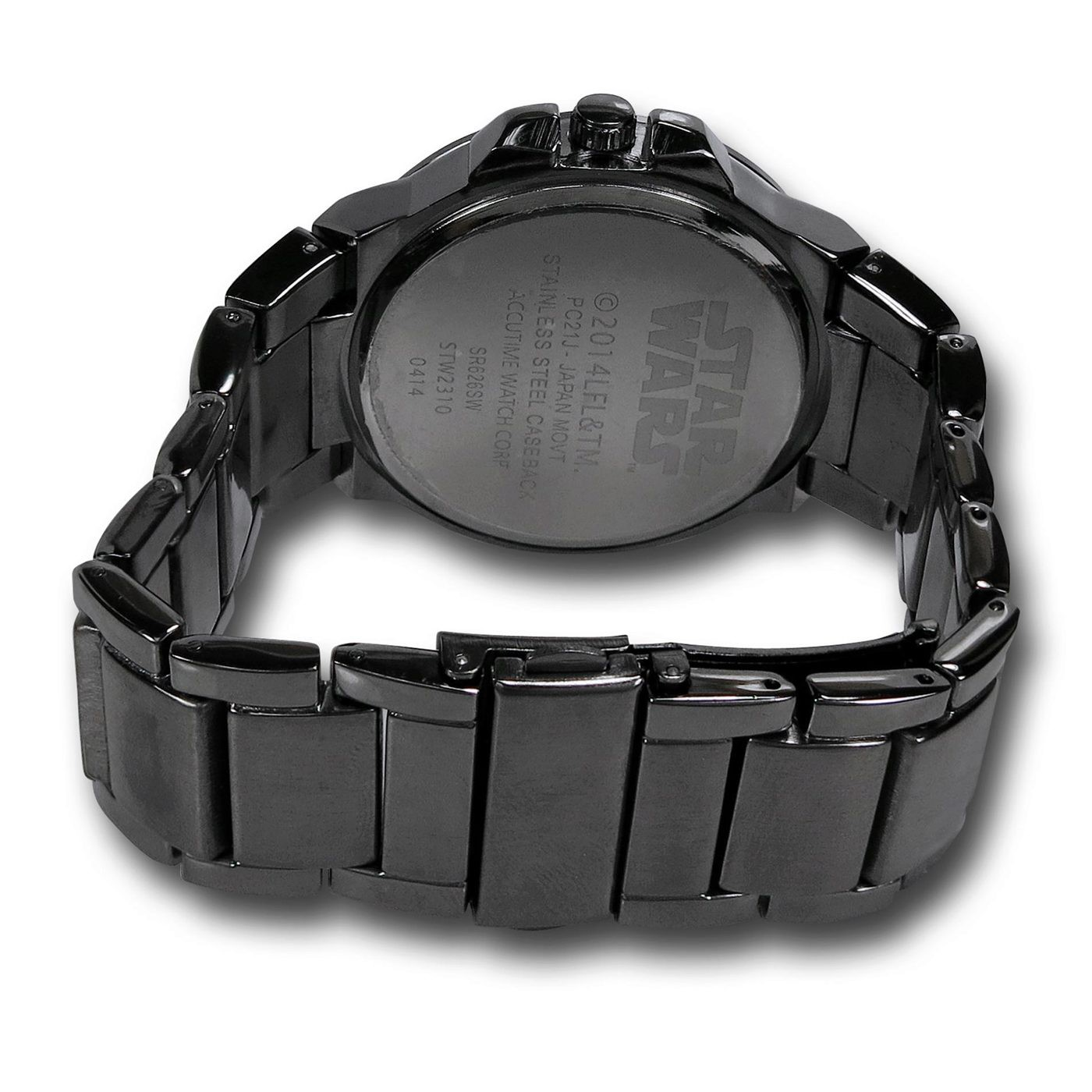 Star Wars Death Star Black Watch with Metal Band
