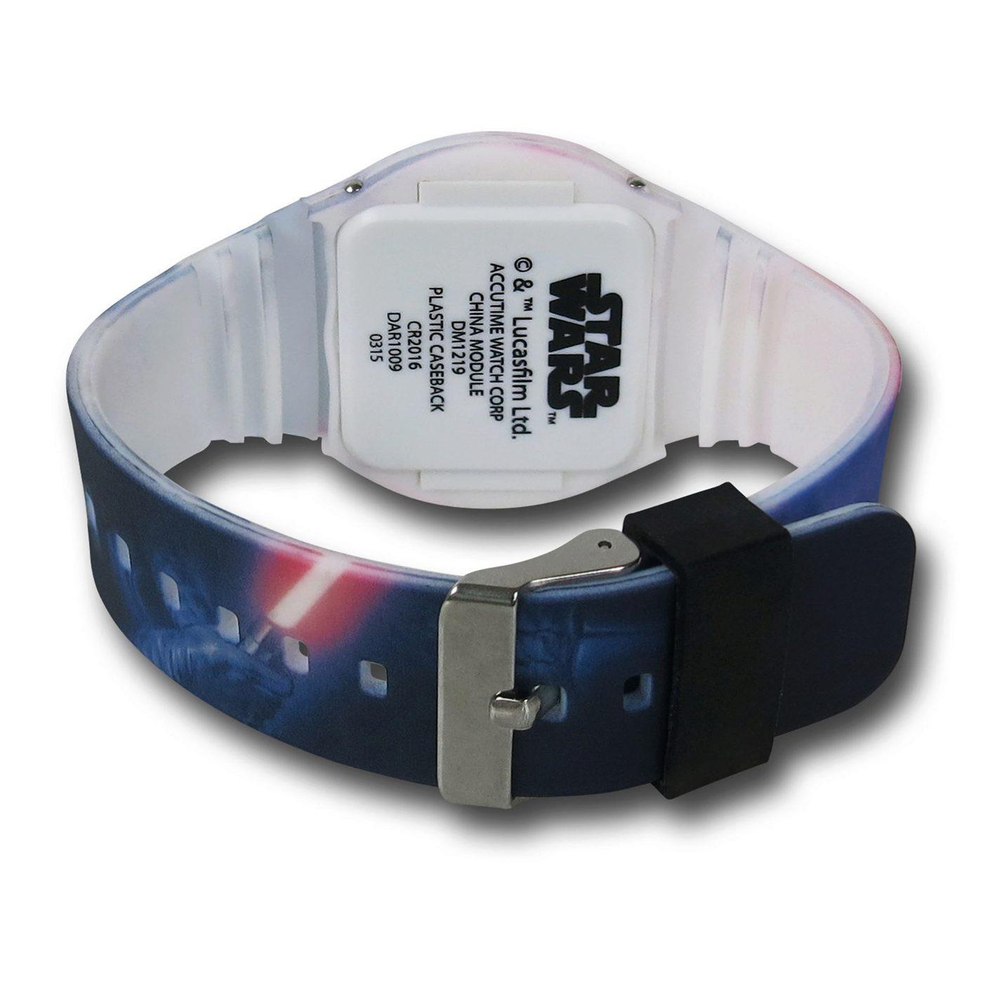 Star Wars Vader LED Watch