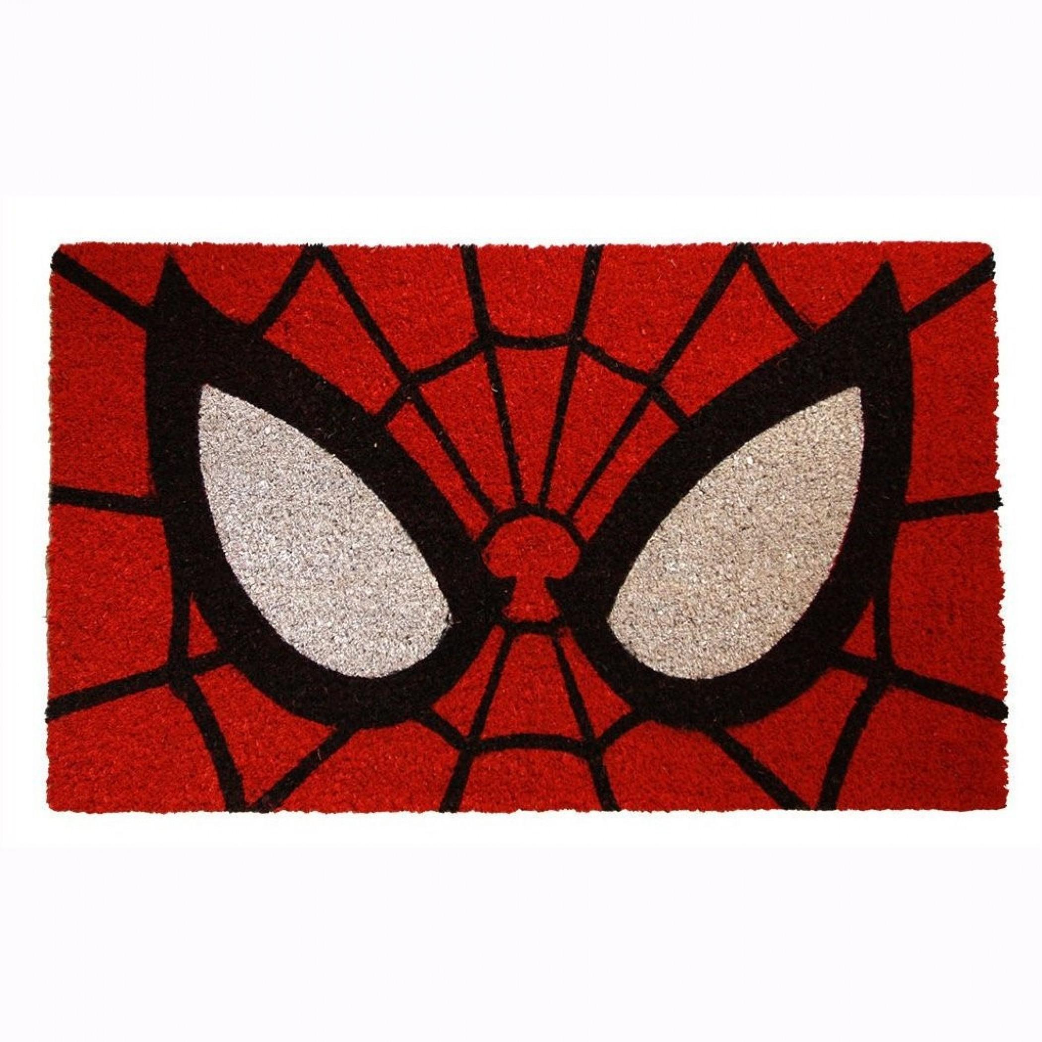 "Spider-Man Eyes 17""x 29"" Doormat with Non-skid Back"