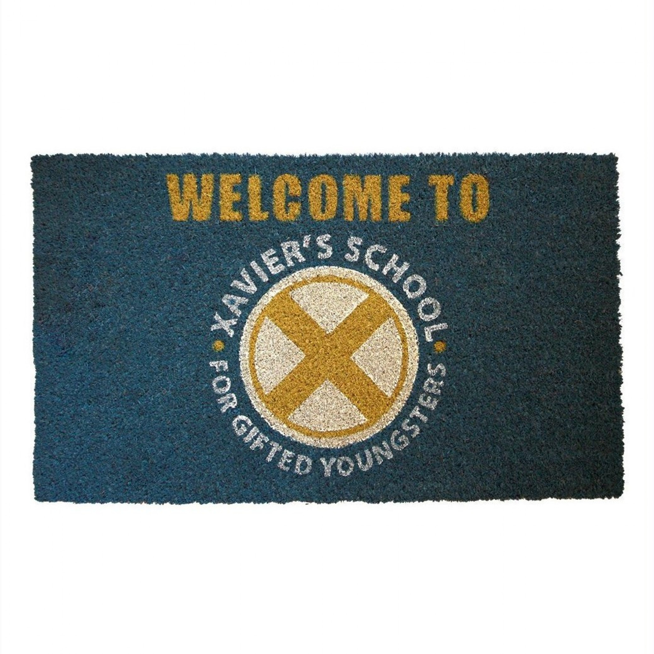 "X-Men Xavier's School For Gifted Youngsters 17""x 29"" Doormat with Non-skid Back"