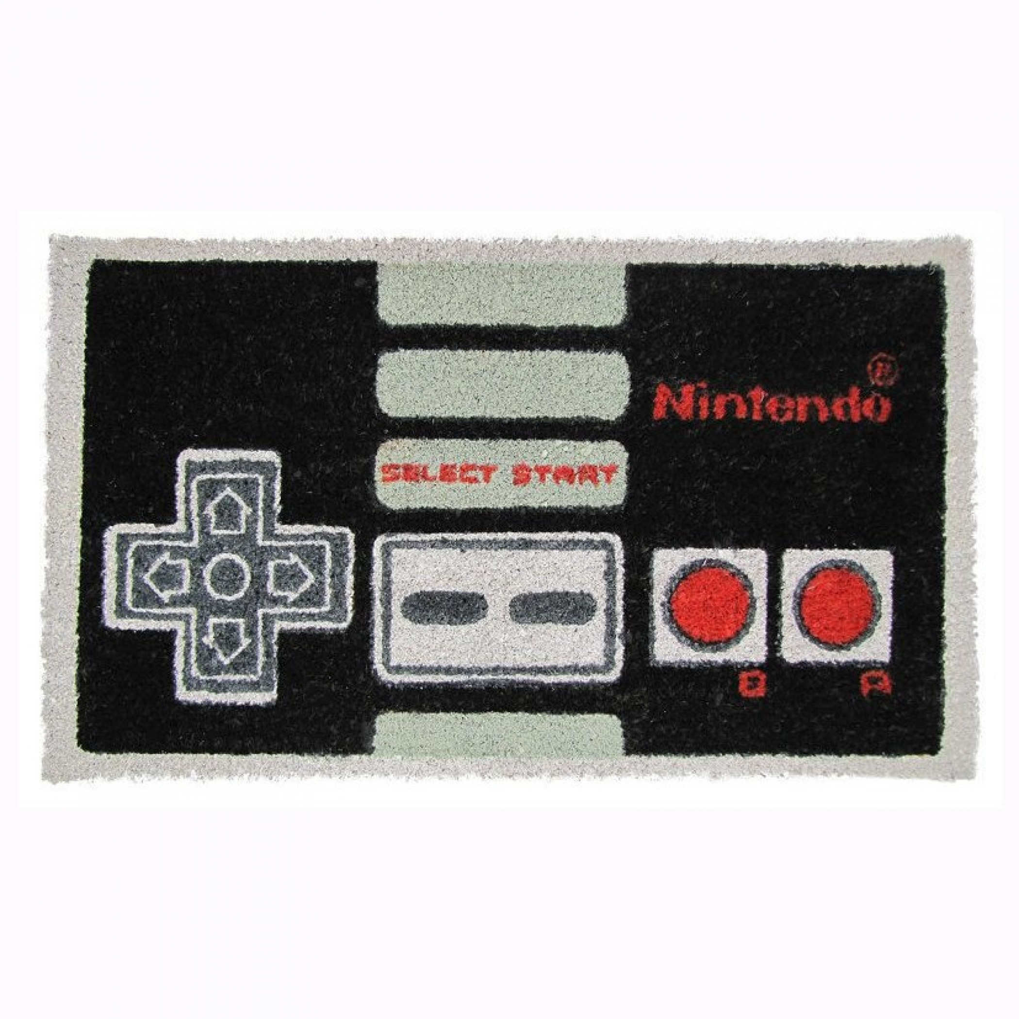 "Nintendo Controller 17""x 29"" Doormat with Non-skid Back"