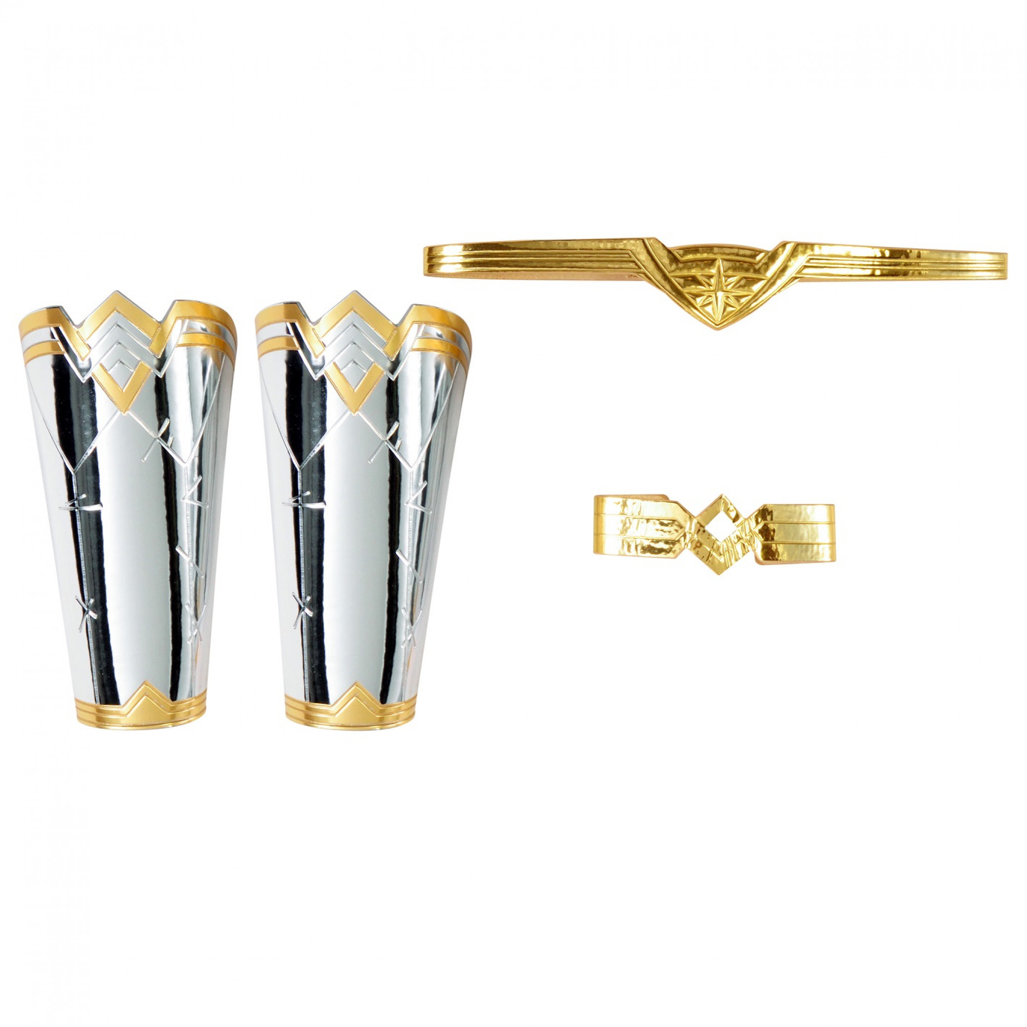 Wonder Woman Adult Accessories Tiara, Gauntlets, and Armband Kit