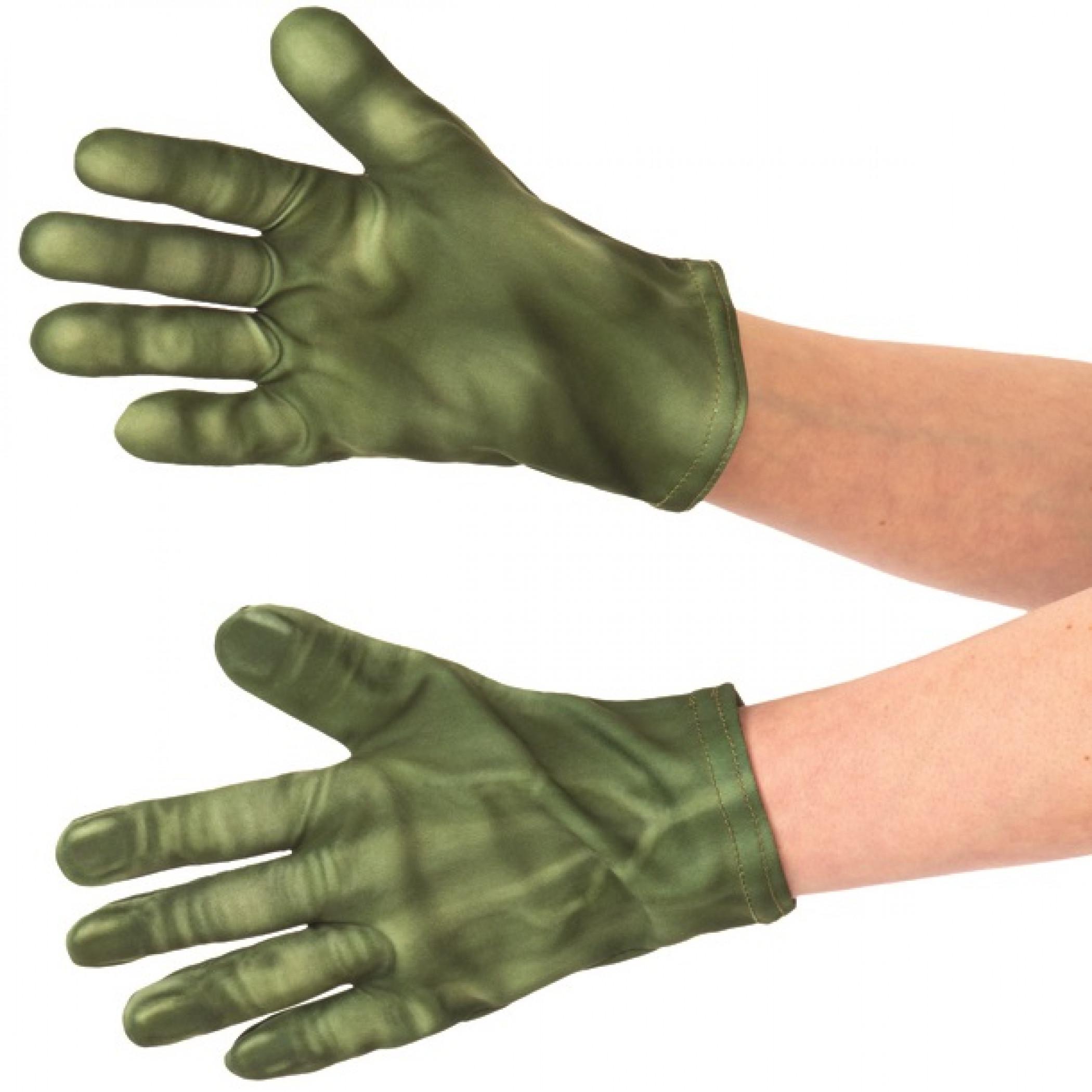 Hulk Children's Costume Gloves