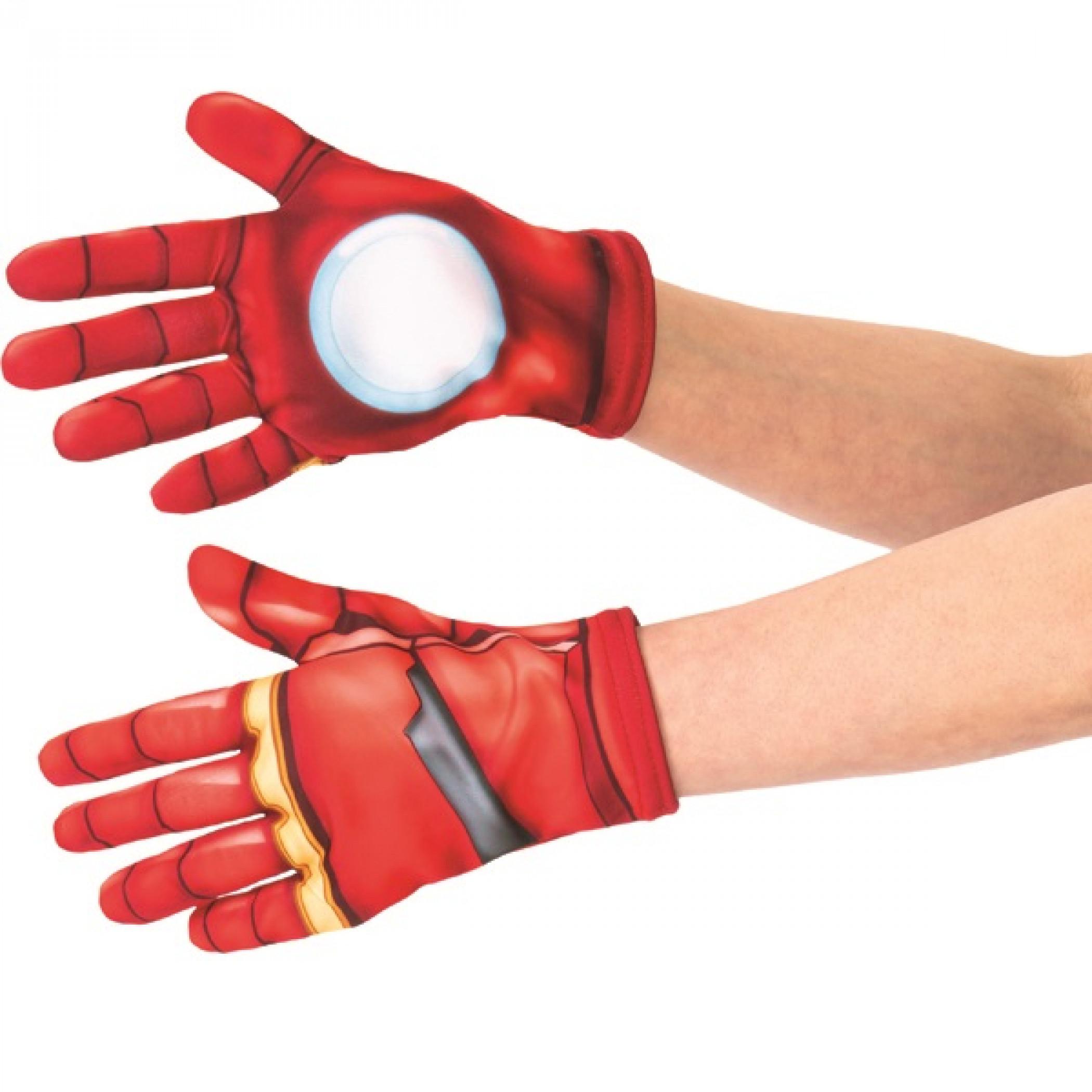 Iron Man Children's Costume Gloves