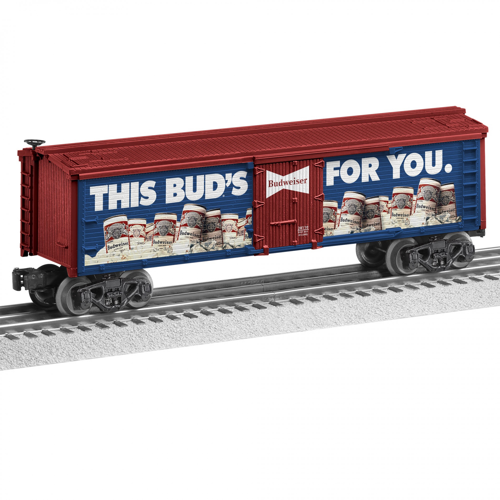 Budweiser This Bud's for You Reefer Train Set Train Car