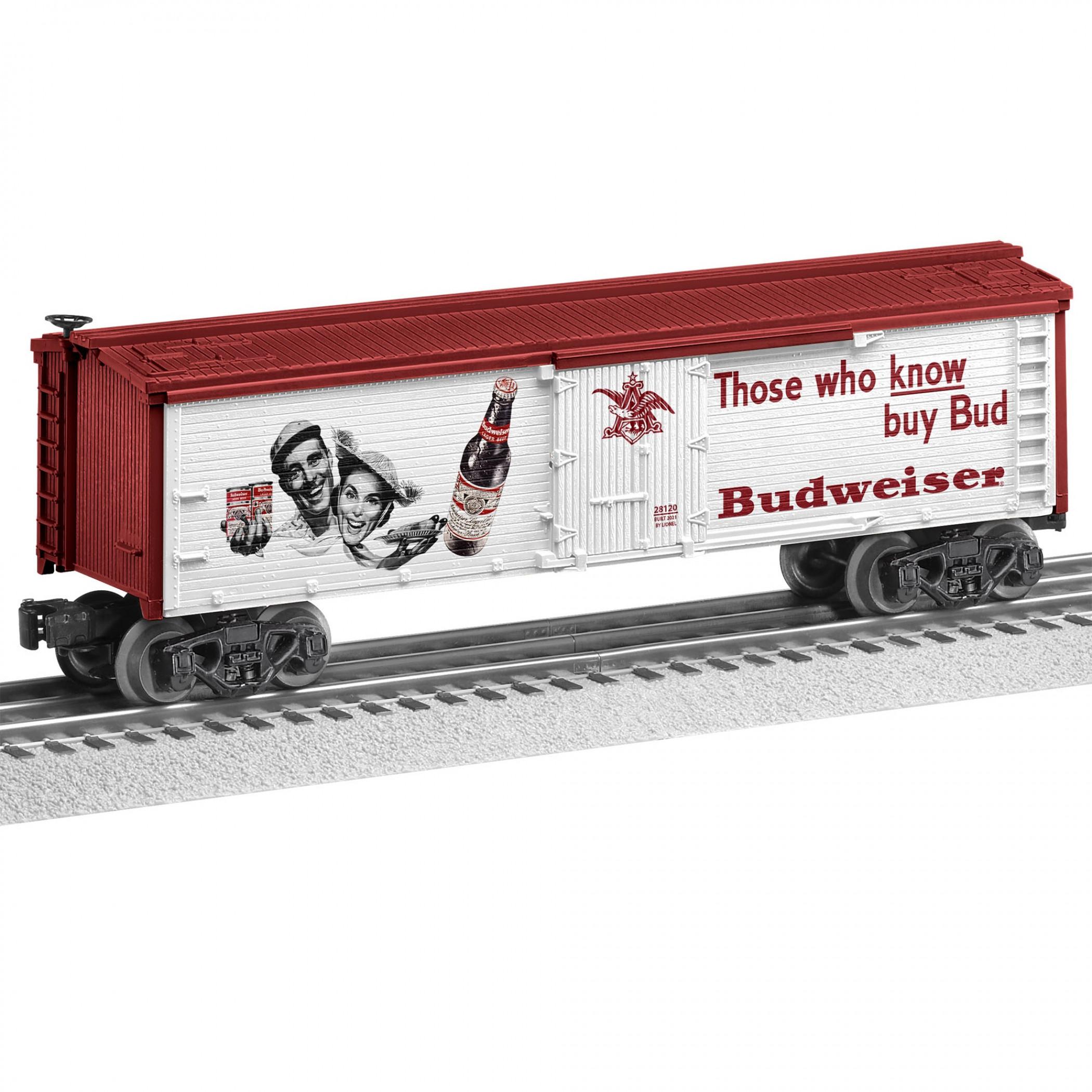 Budweiser Beer Those Who Know Train Set Train Car